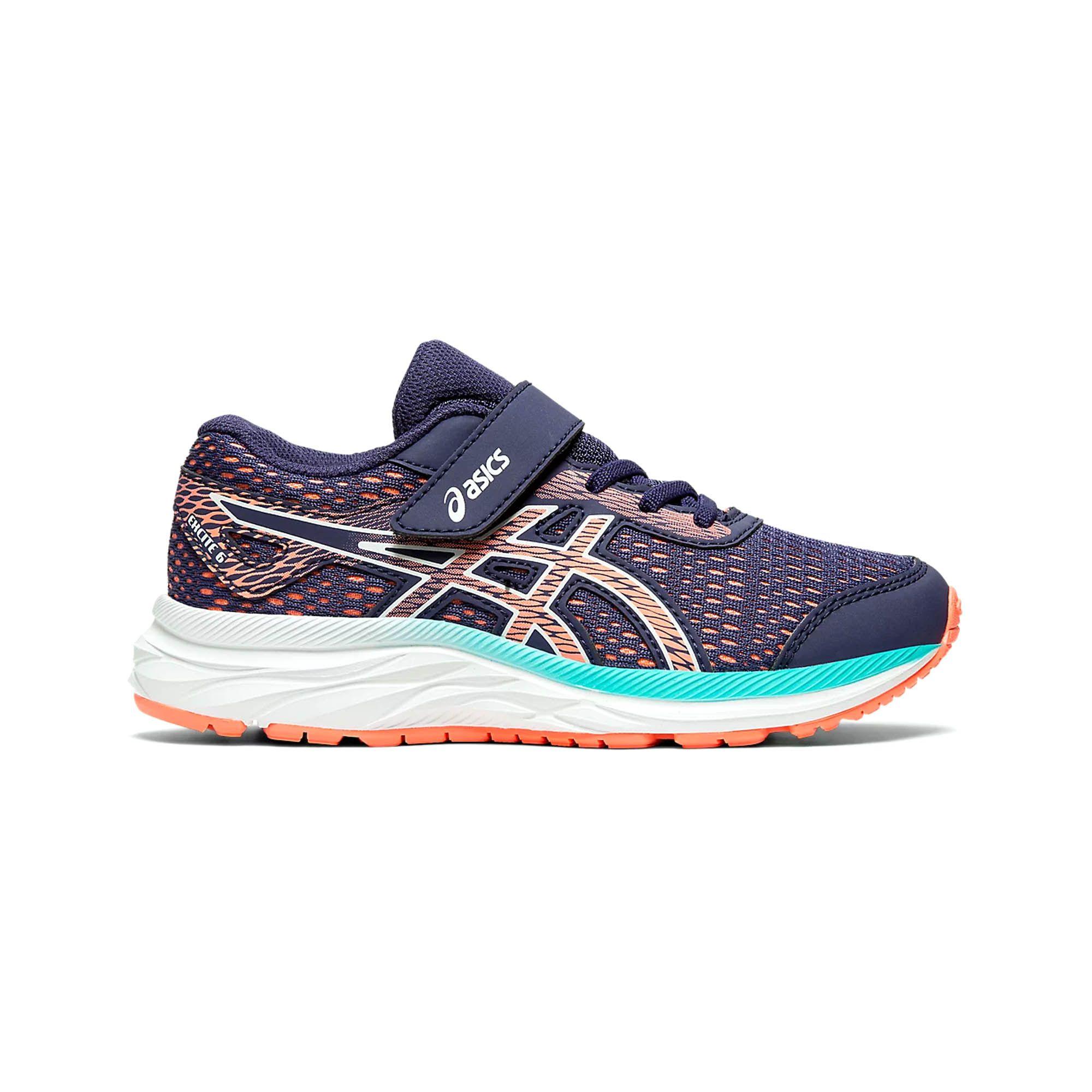Asics Excite 6 Junior Running Trainer Purple/Pink