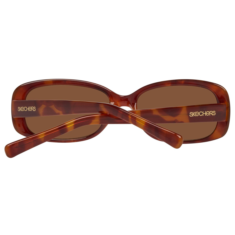 Skechers Sunglasses SE7043 K17 56 Women Brown