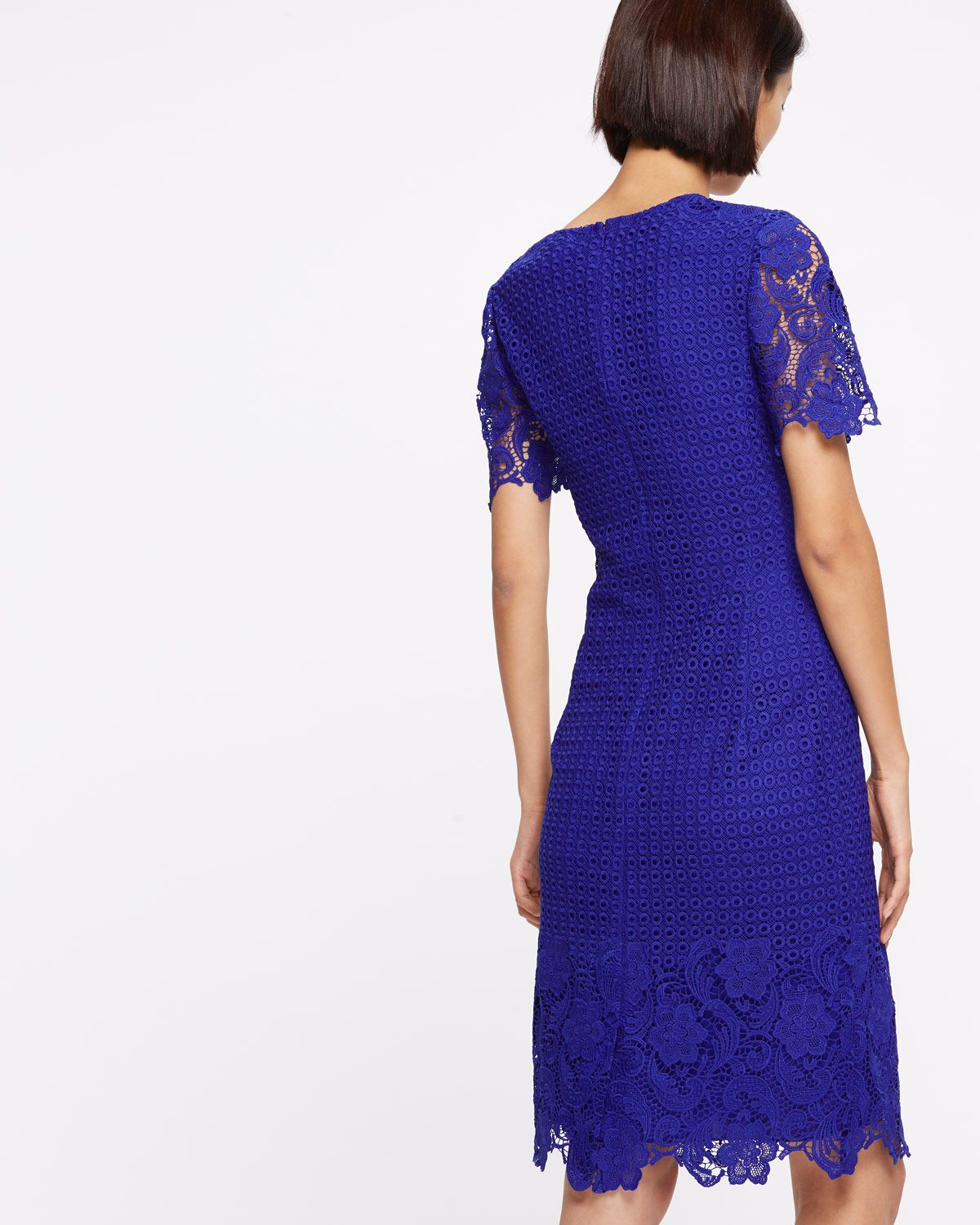 Engineered Lace Dress