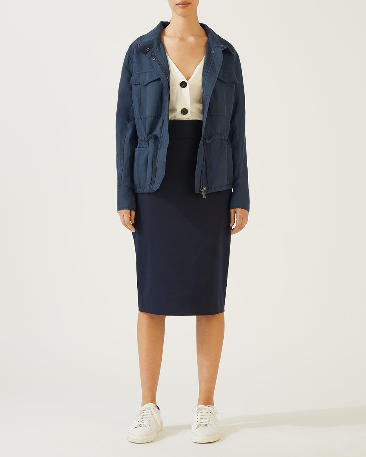 Linen Tencel Jacket