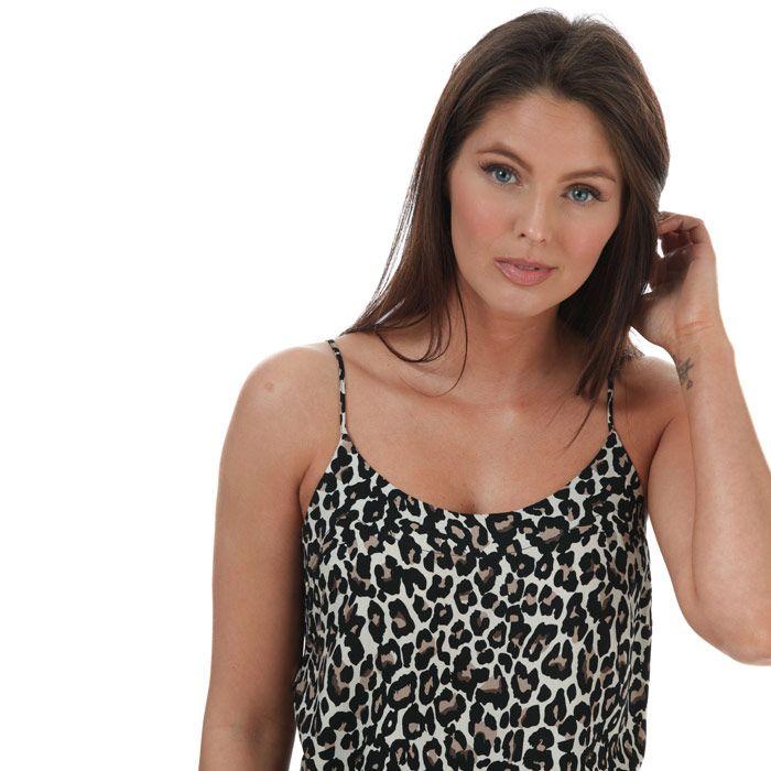 Women's Vero Moda Simply Easy Linea Cami Top Oatmeal 6in Oatmeal