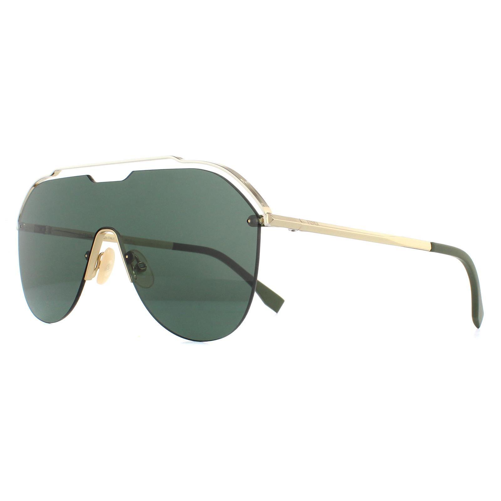 Fendi Sunglasses M0030/S J5G QT Gold Green