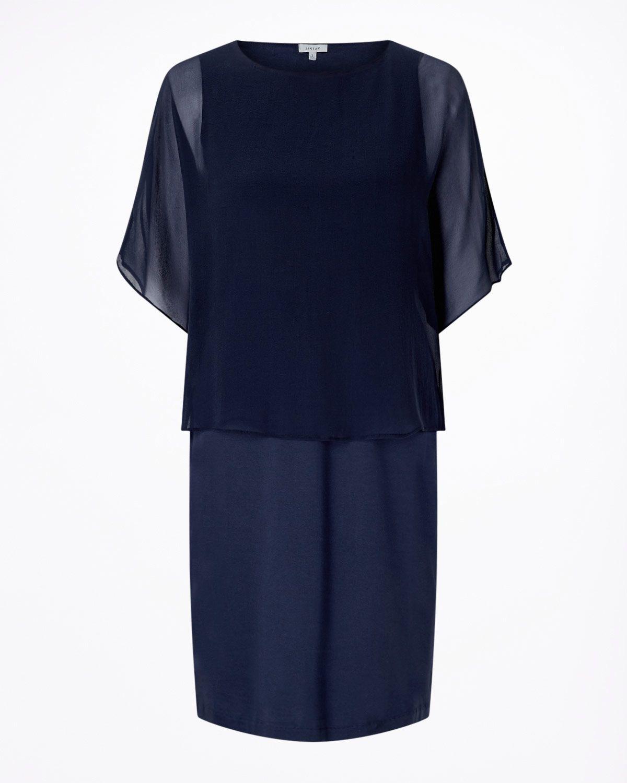 Silk Overlay Dress