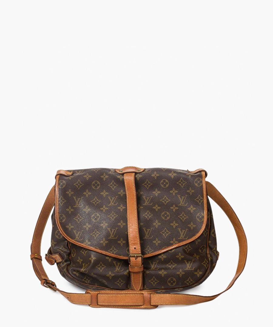 Saumur brown shoulder bag