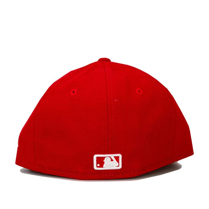 Accessories New Era Kids New York Yankee Basic 59Fifty Cap in Red