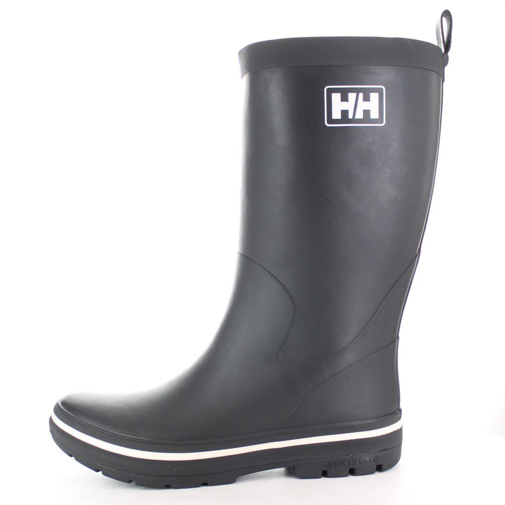 Helly Hansen Ladies Midsund 2 Rubber Welly Wellington Boots Black