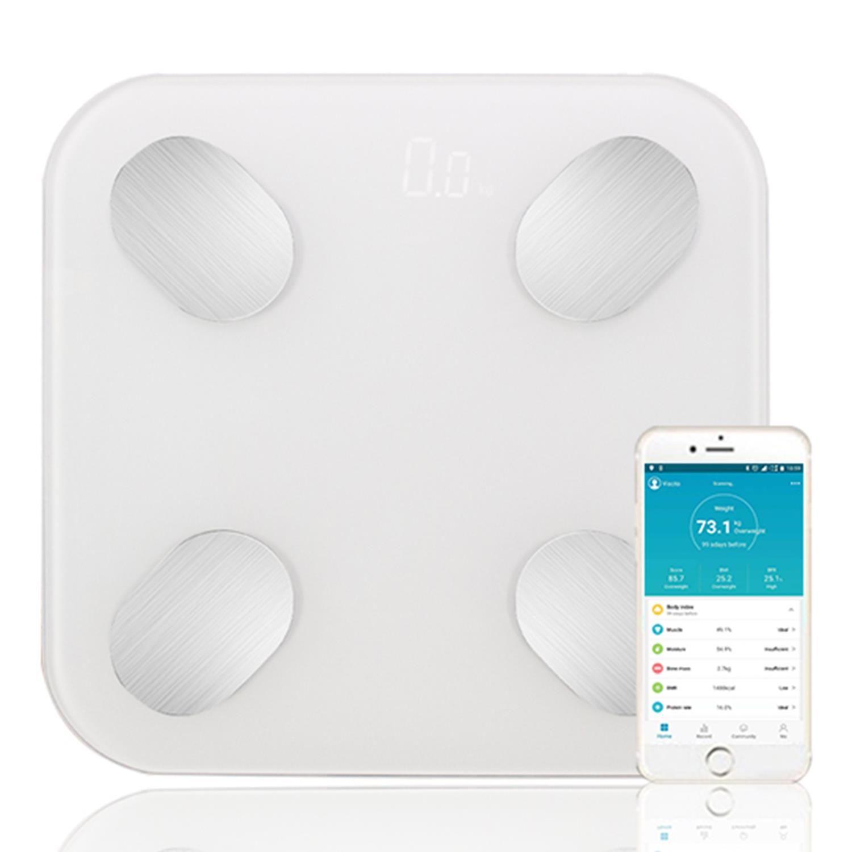 Aquarius Smart Body Bluetooth Scale White