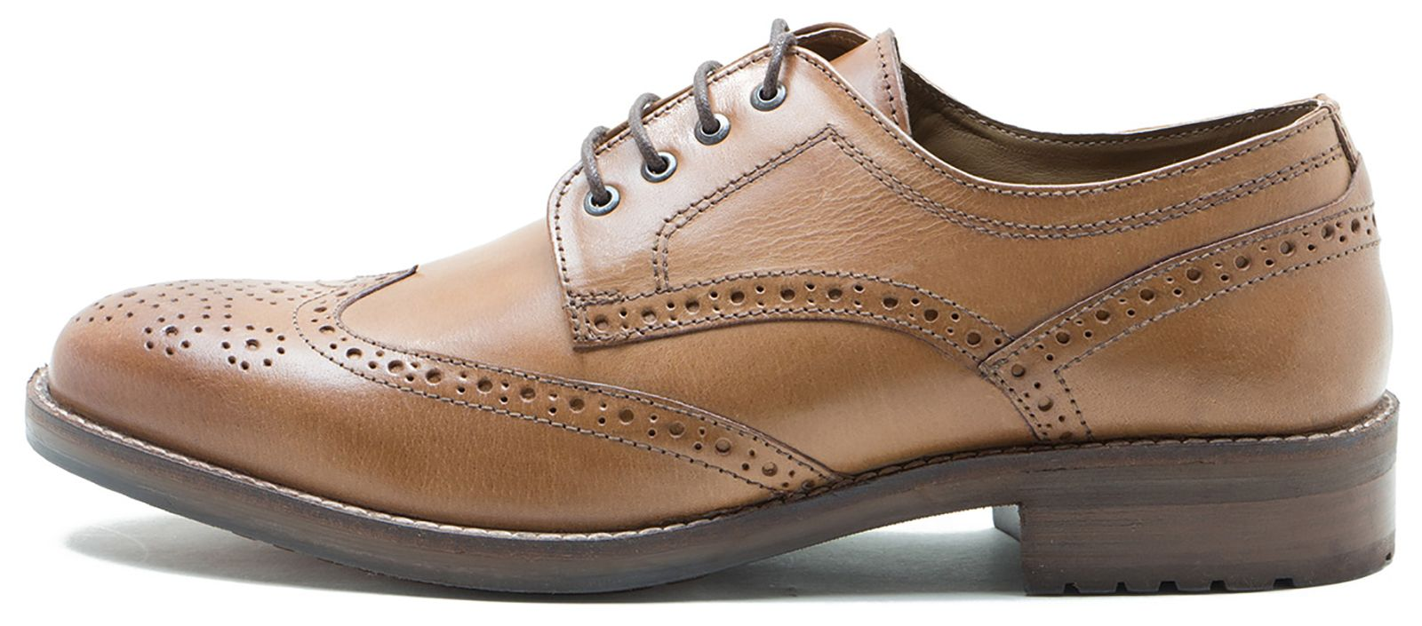 Red Tape Swinley Mens Leather Formal Shoes Tan