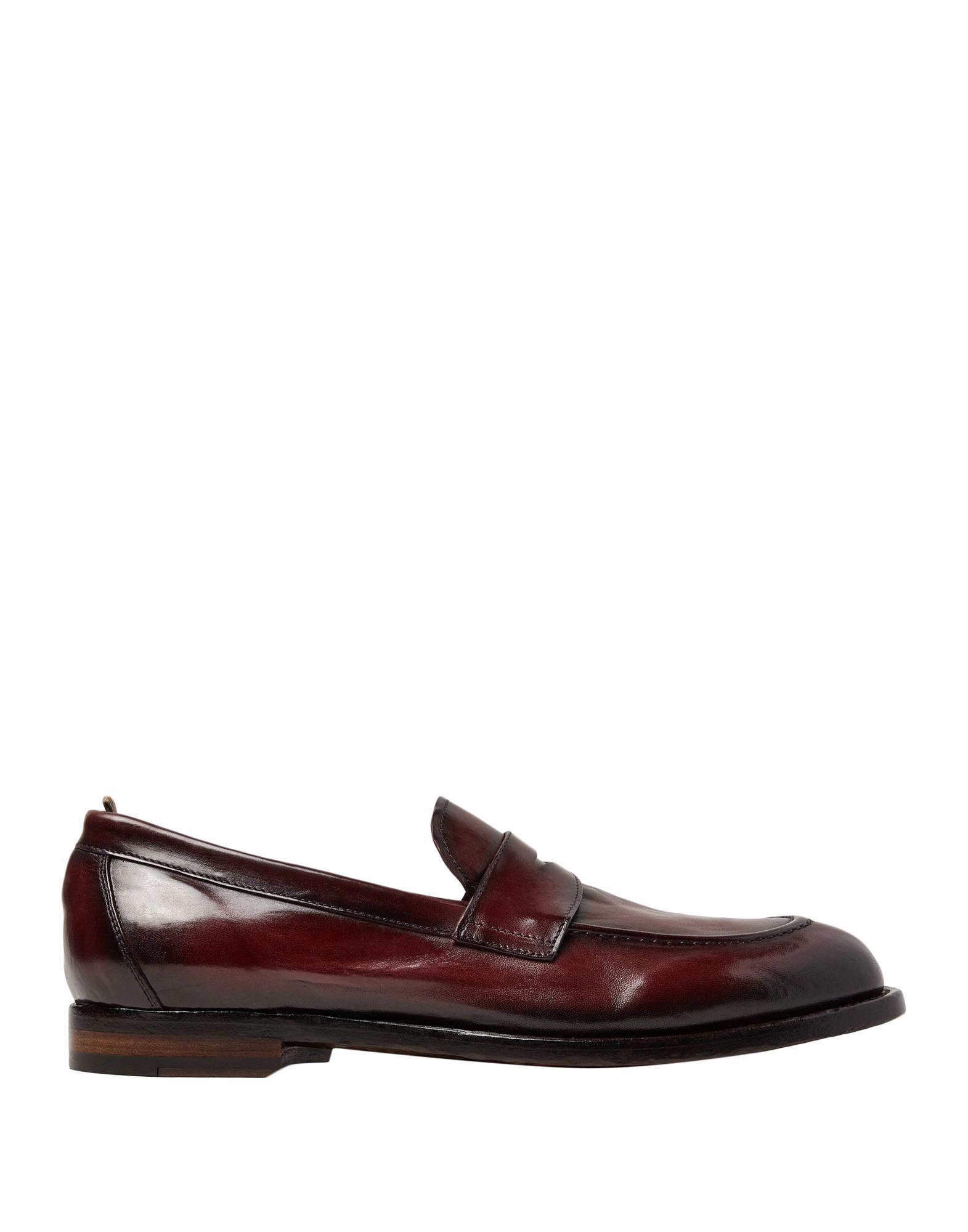 Officine Creative Italia Cocoa Leather Loafers