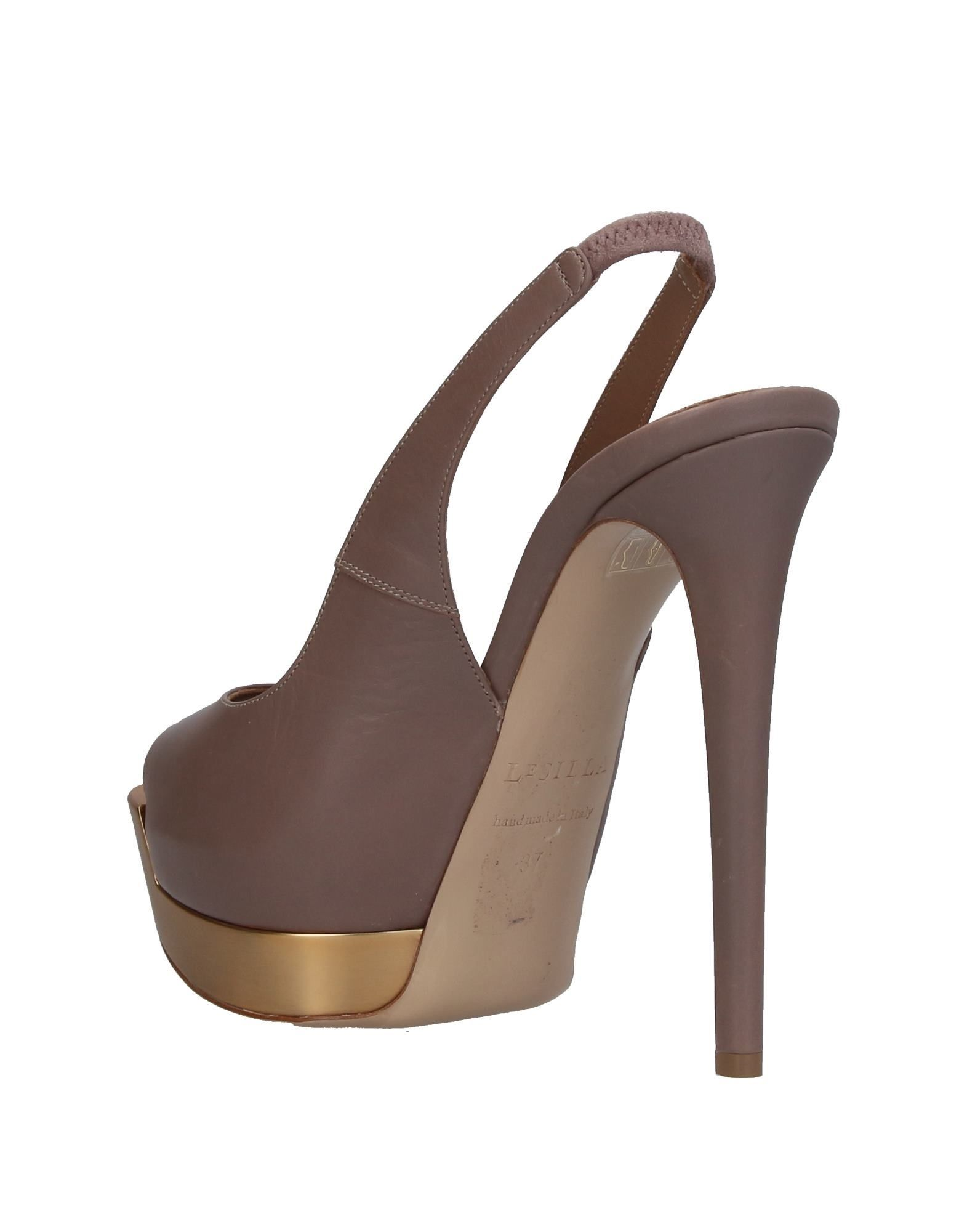 FOOTWEAR Le Silla Dove grey Woman Leather