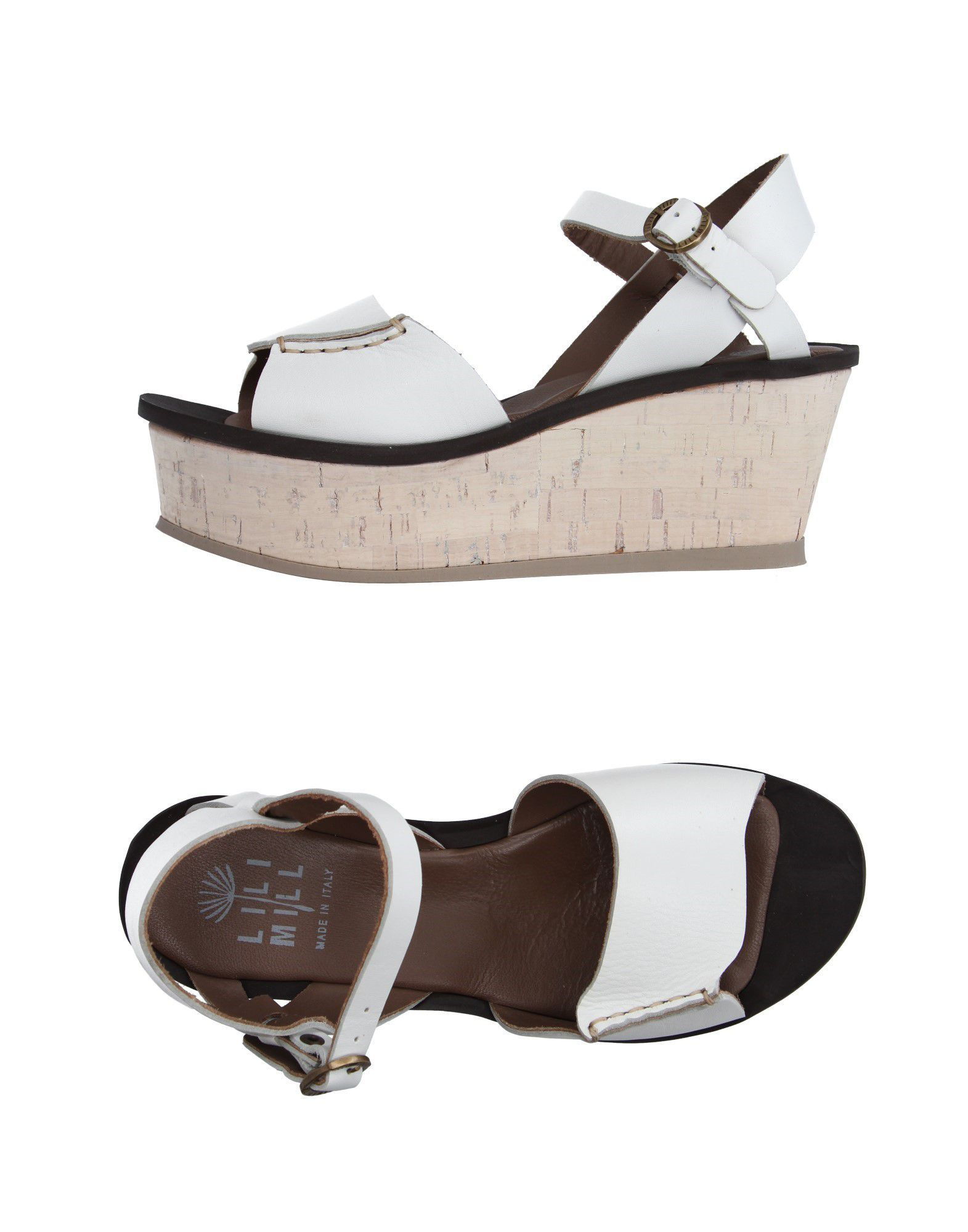 FOOTWEAR Lilimill White Woman Leather