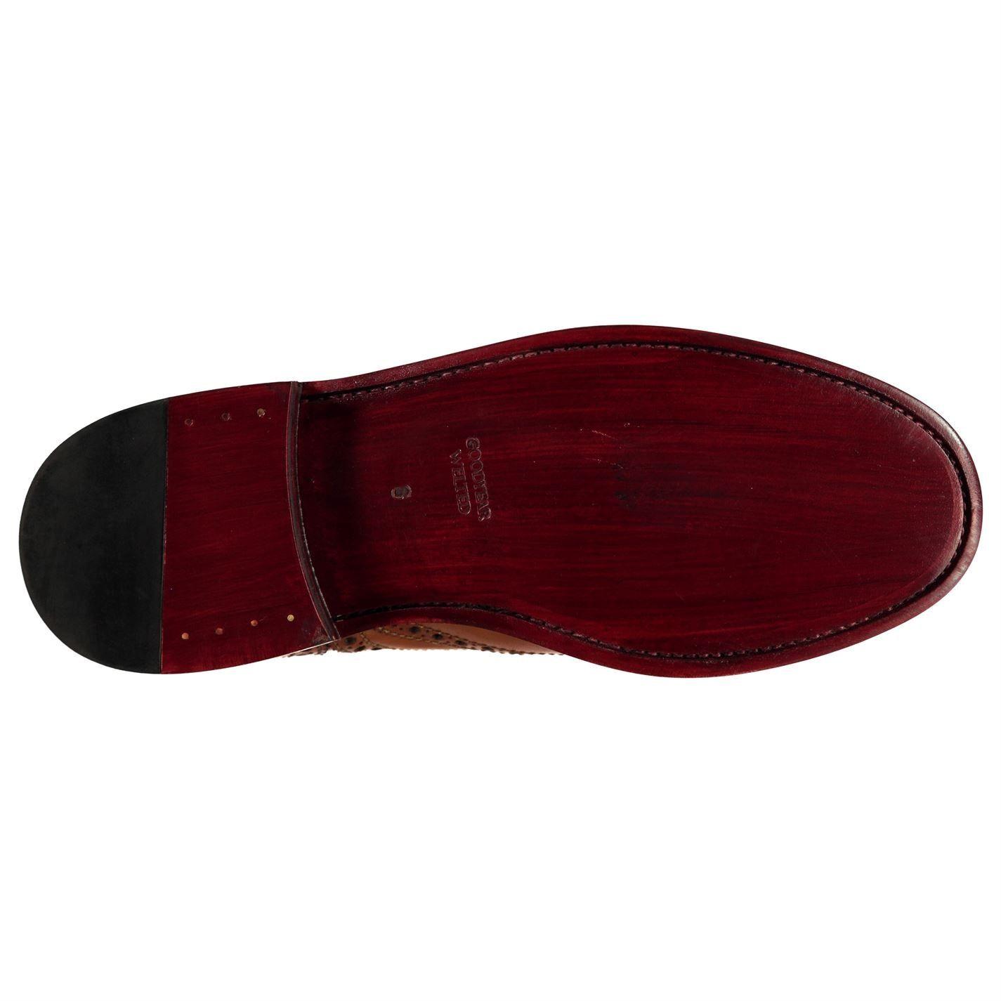 Firetrap Mens Blackseal Highbury Shoes Brogues Lace Up Tonal Stitching Brogue