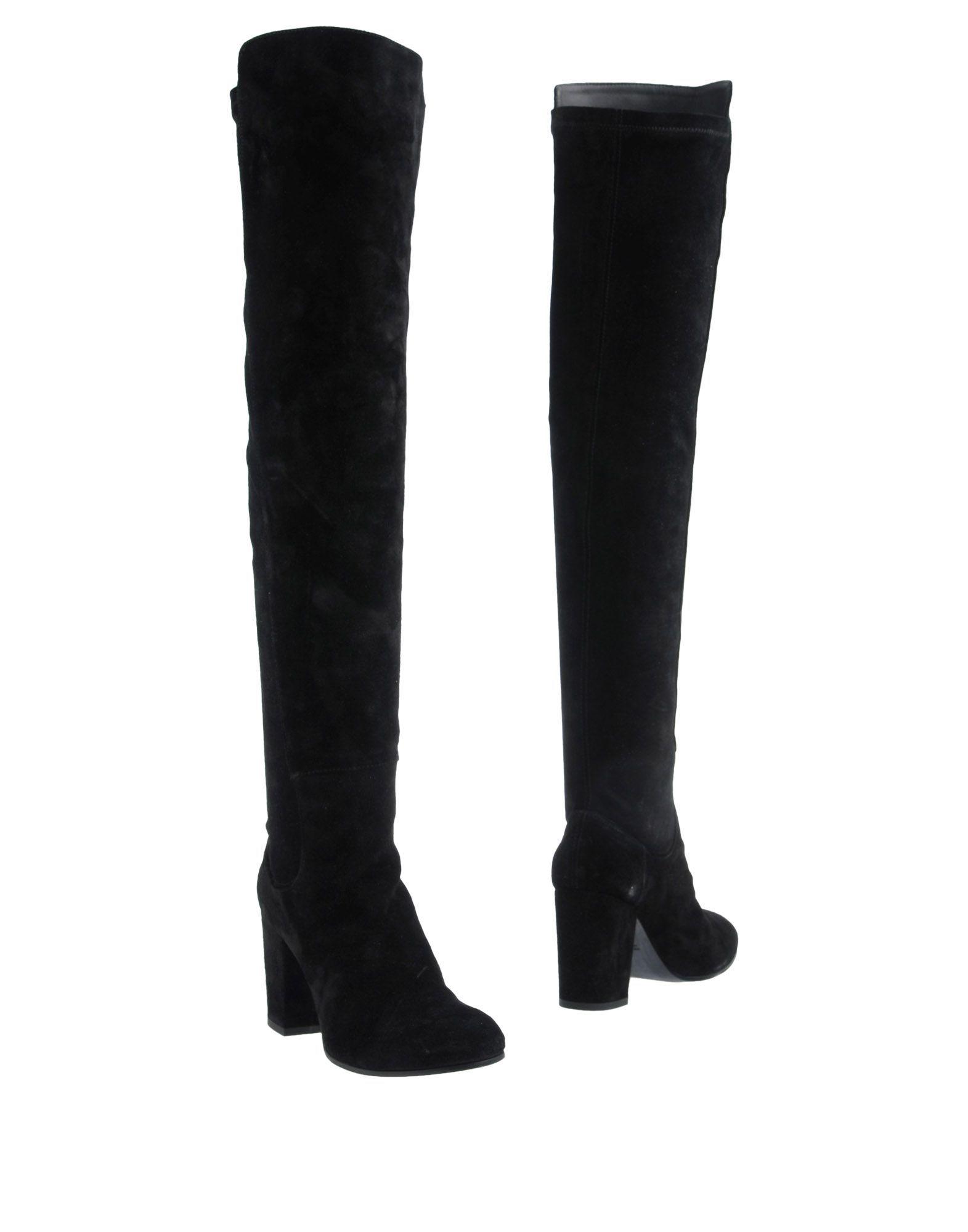 Lemaré Women's Boots Black Leather