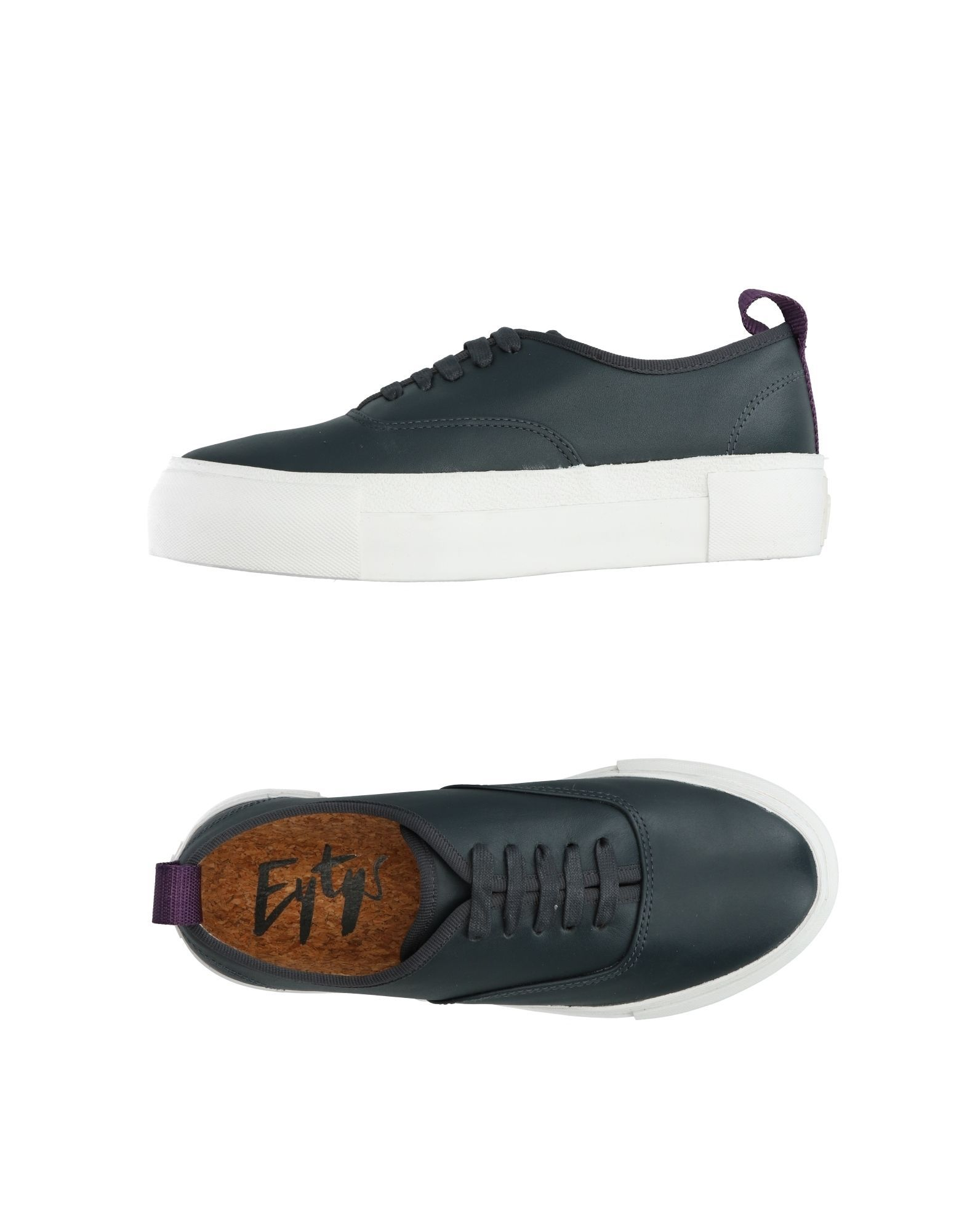 Eytys Lead Leather Sneakers