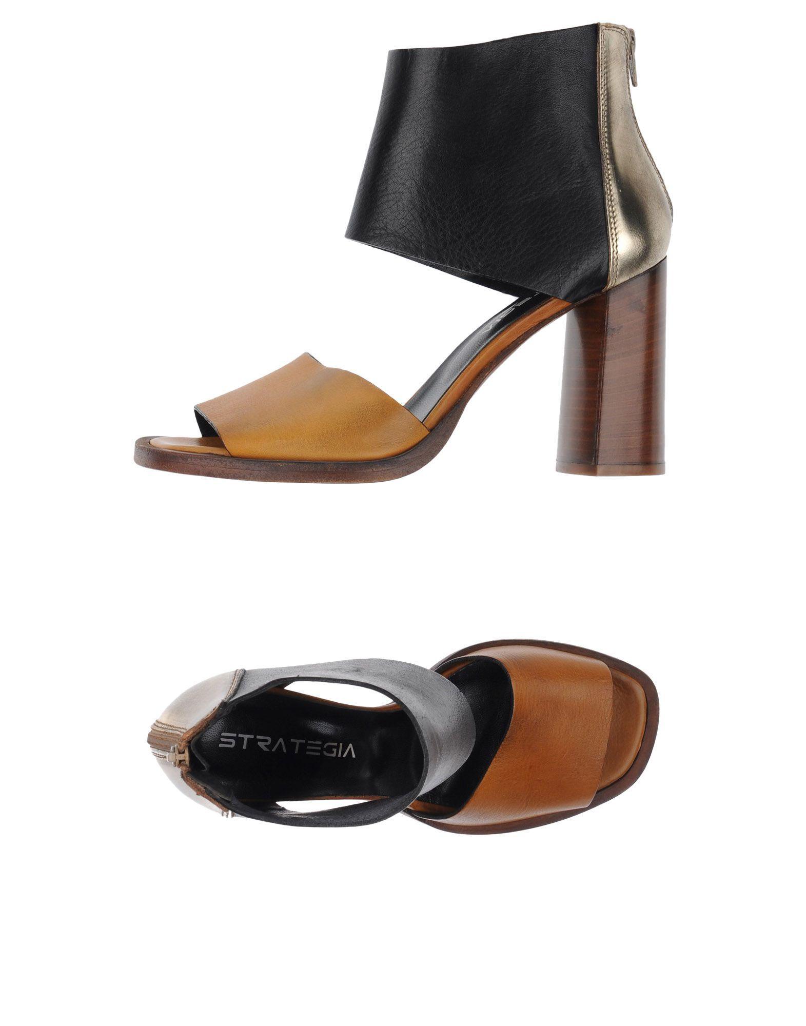 FOOTWEAR Strategia Ochre Woman Leather