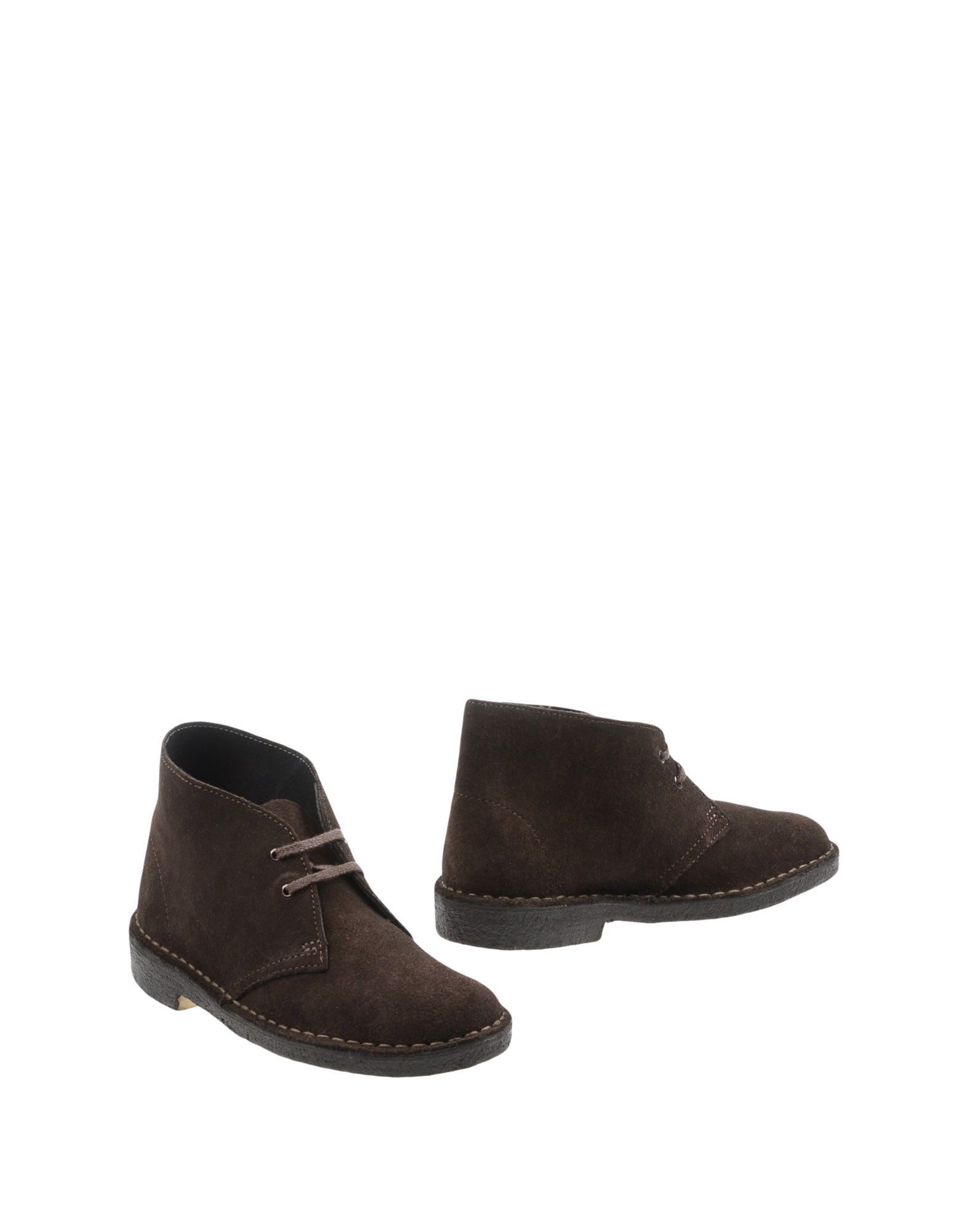 Clarks Originals Women's Ankle Boots Dark Brown Leather