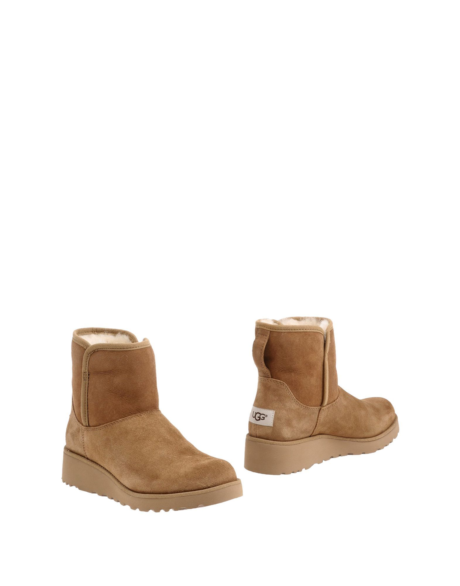 Ugg Australia Camel Leather Boots