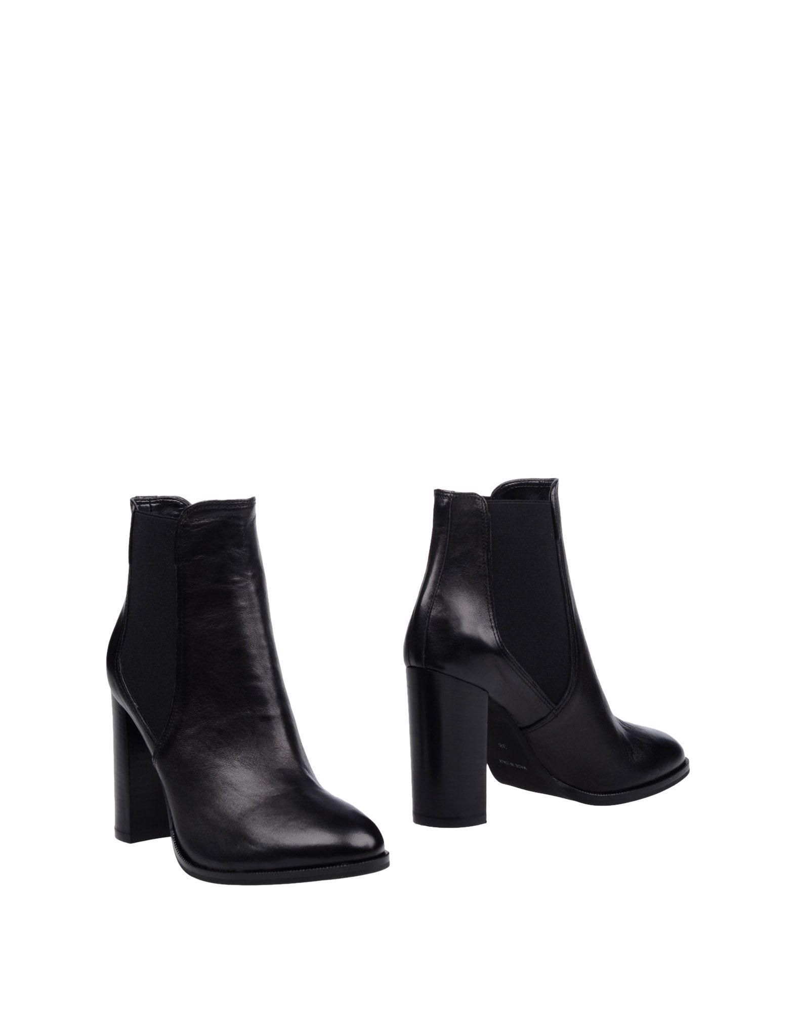 Bagatt Black Leather Ankle Boots
