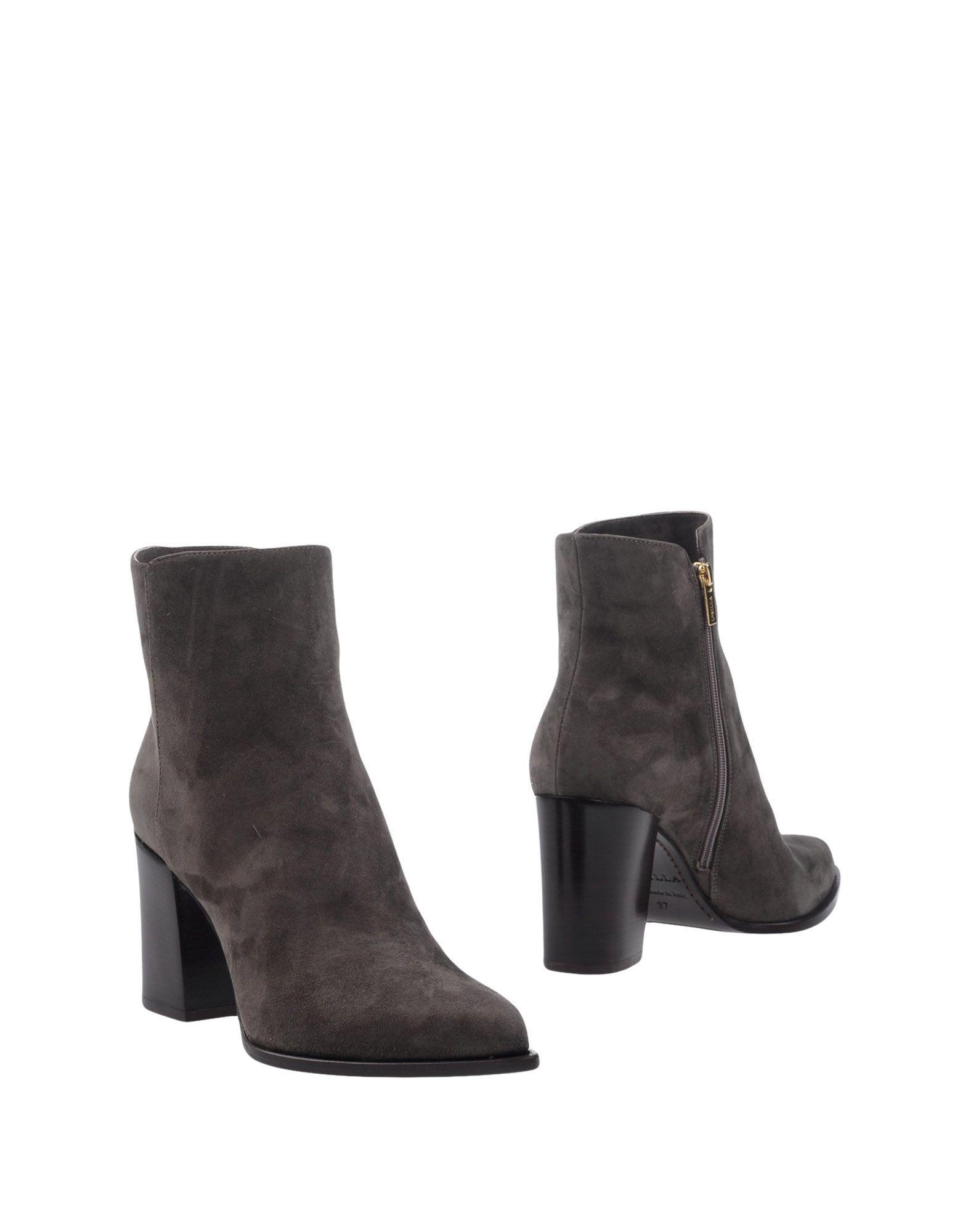 Footwear Le Silla Grey Women's Leather