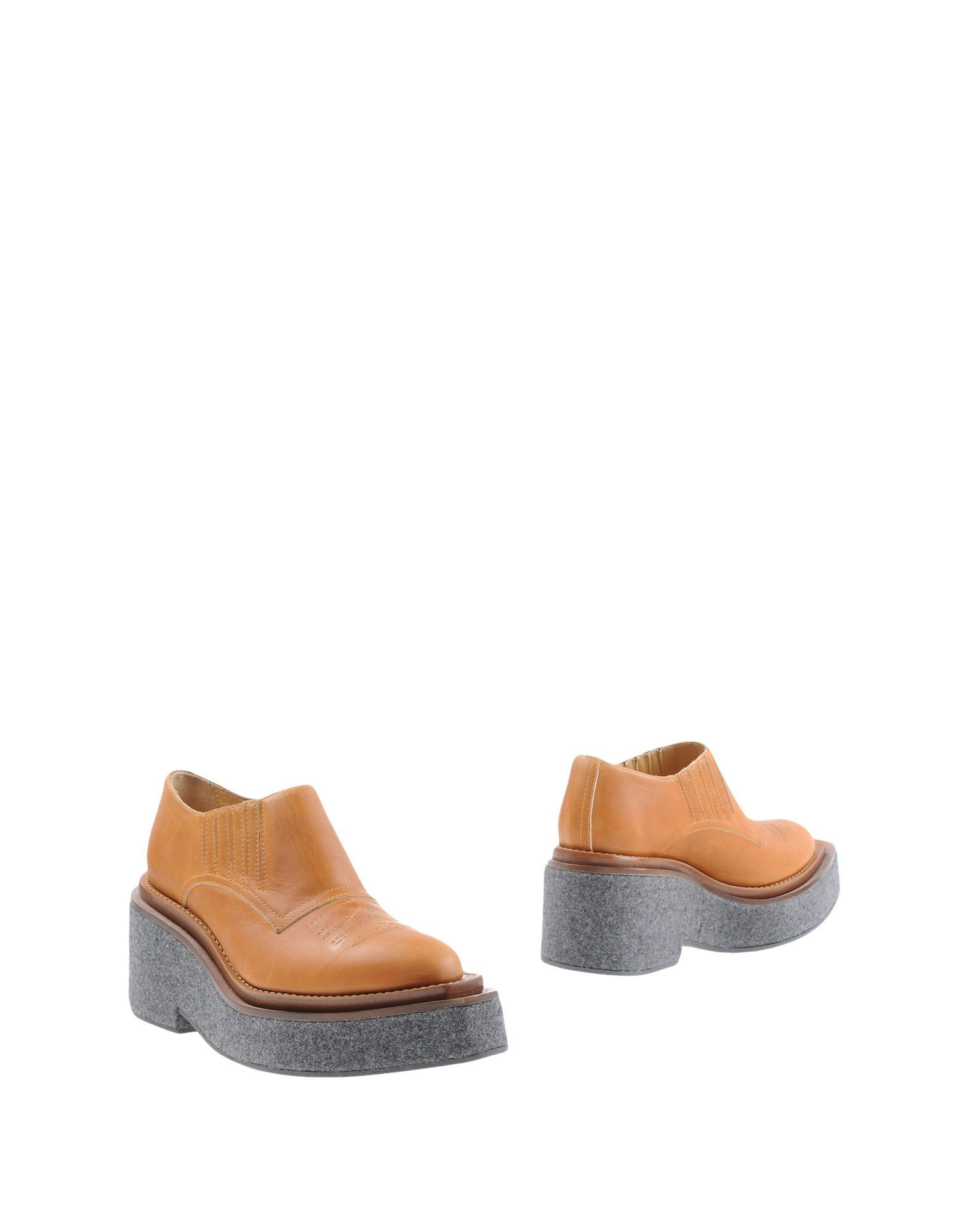 MM6 Maison Margiela Brown Leather Shoes