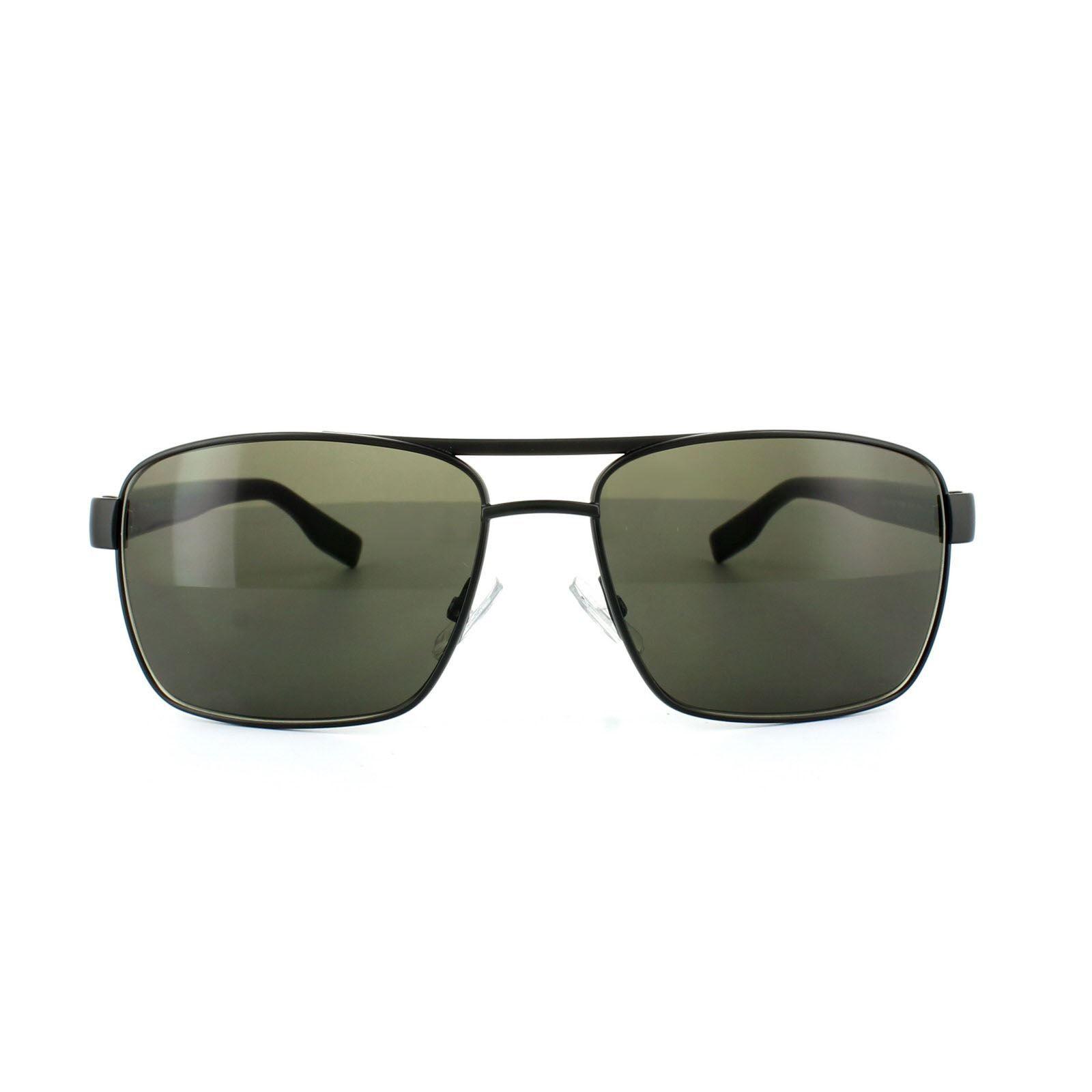 Hugo Boss Sunglasses 0592 6VB NR Black Dark Grey