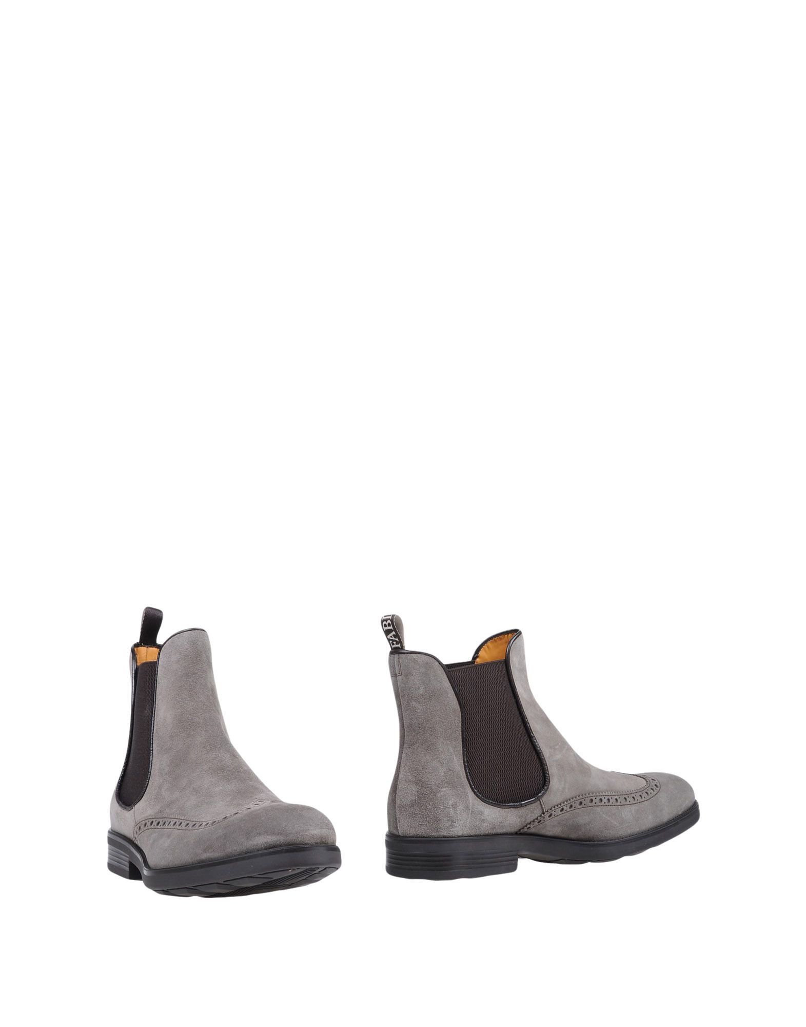 Fabi Lead Leather Chelsea Boots