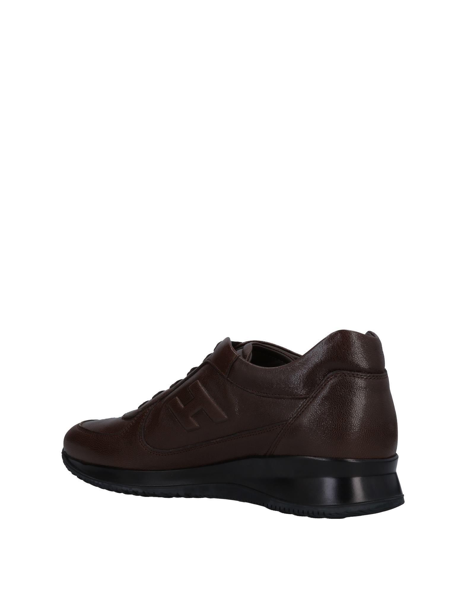 FOOTWEAR Hogan Cocoa Man Leather