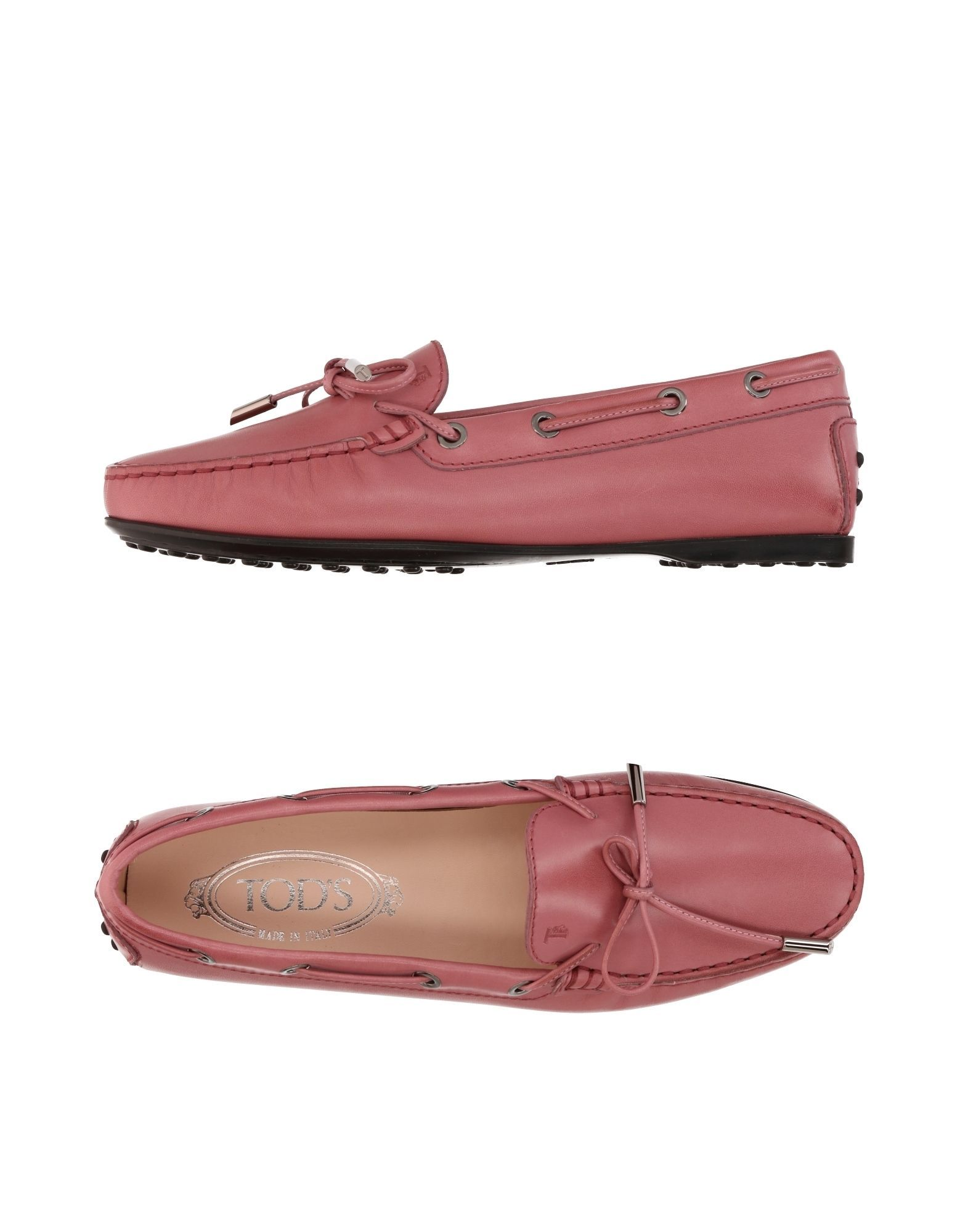 FOOTWEAR Tod'S Pastel pink Woman Leather