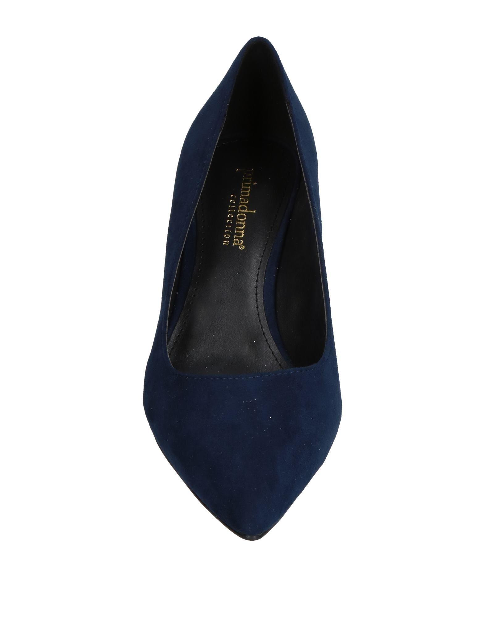 Primadonna Dark Blue Kitten Heels