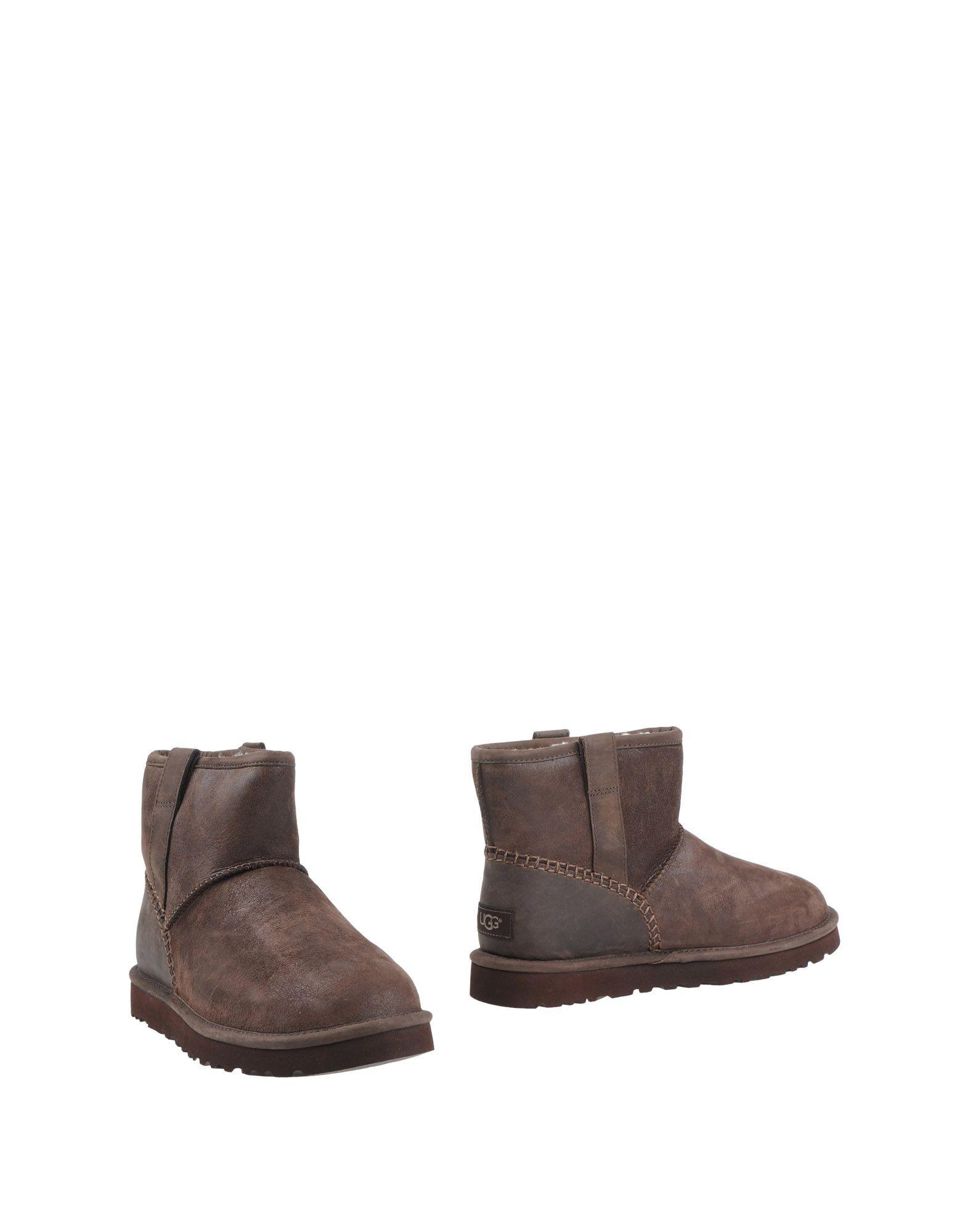 Ugg Australia Dark Brown Leather Boots