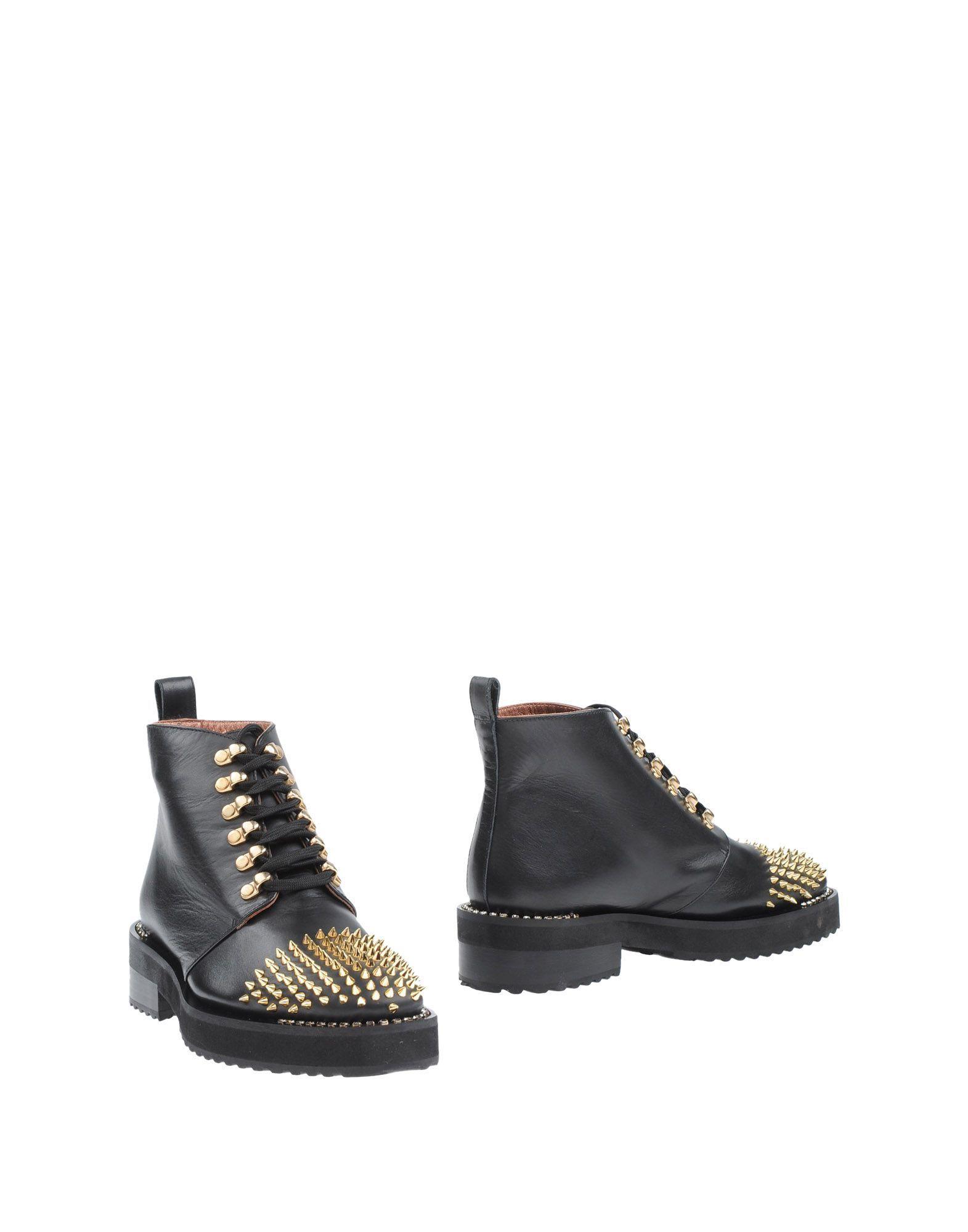 Footwear Ras Black Women's Leather