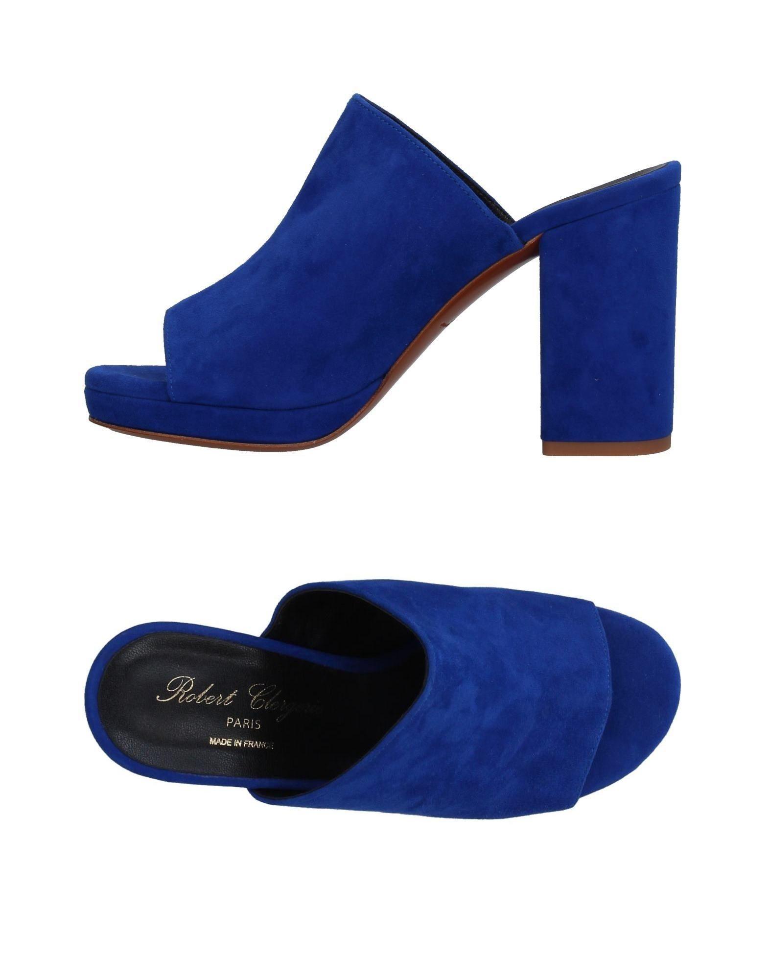 FOOTWEAR Robert Clergerie Bright blue Woman Buck