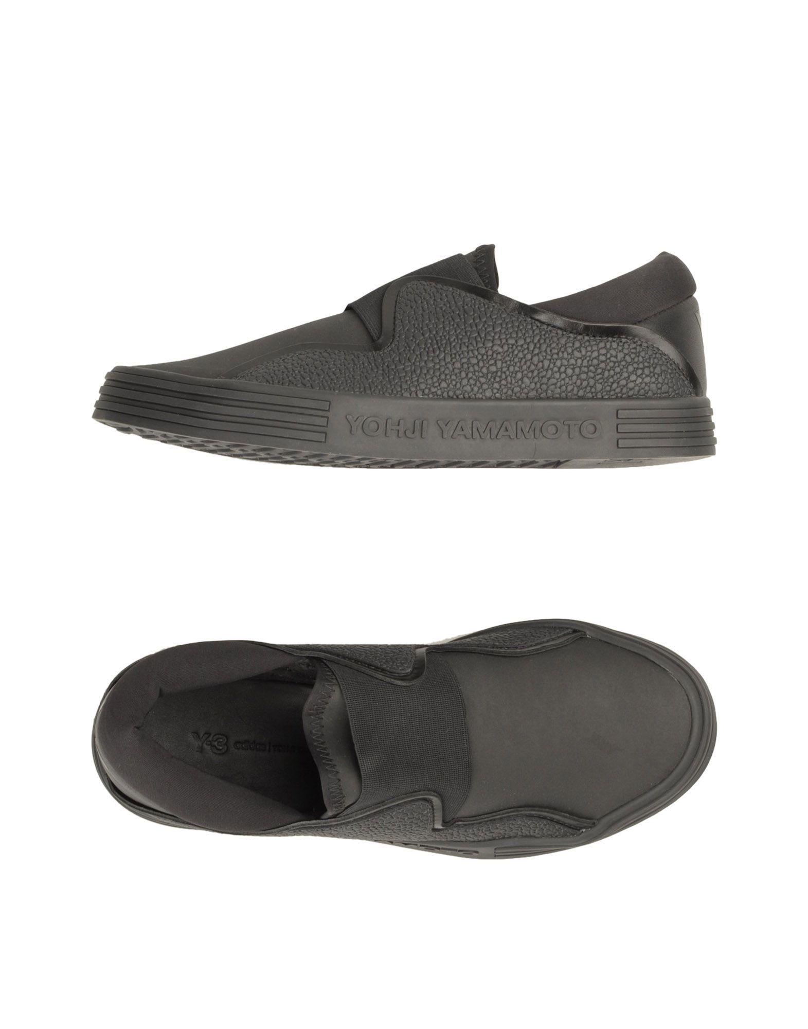 Y-3 Black Slip On Sneakers