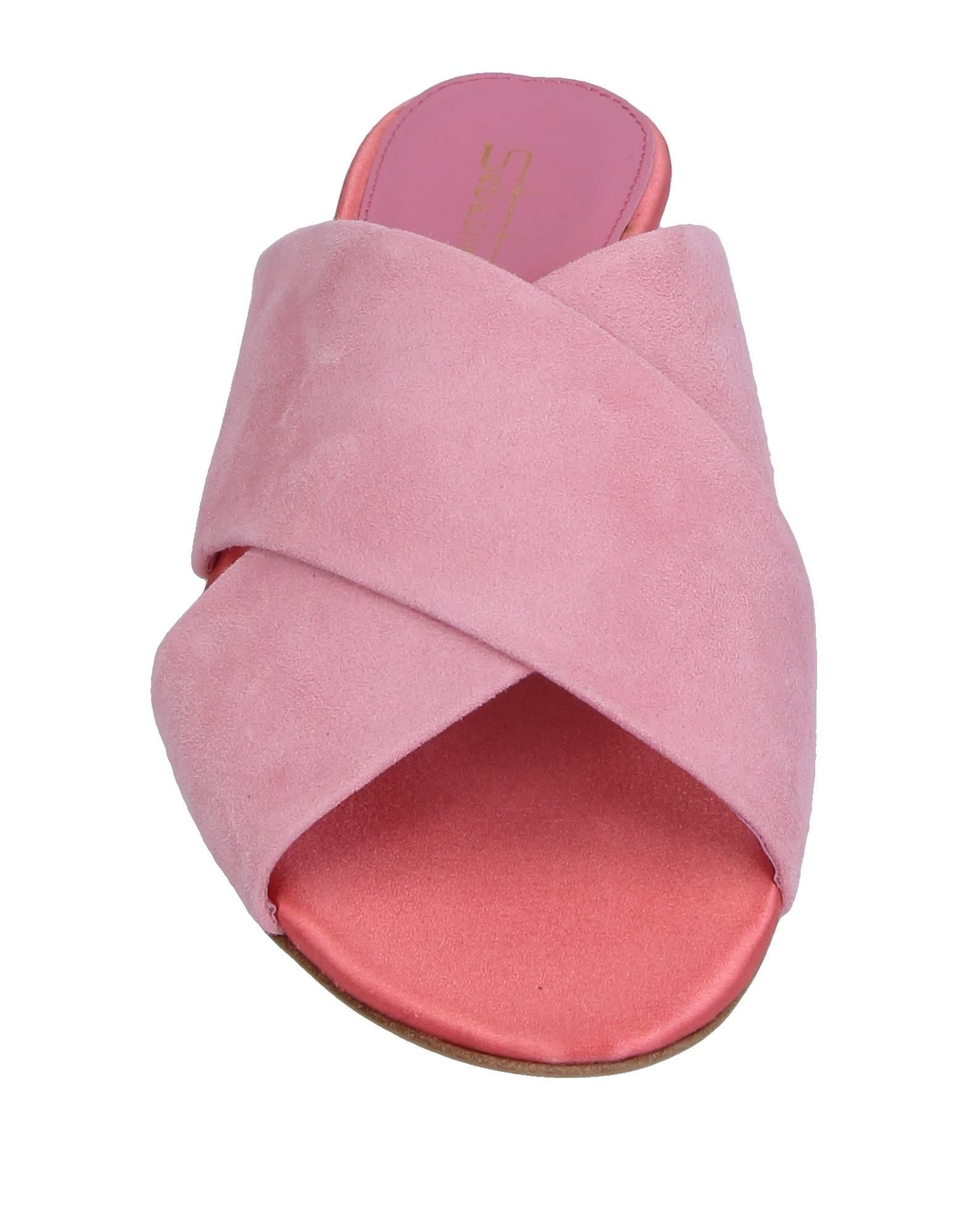 FOOTWEAR Sebastian Pink Woman Leather