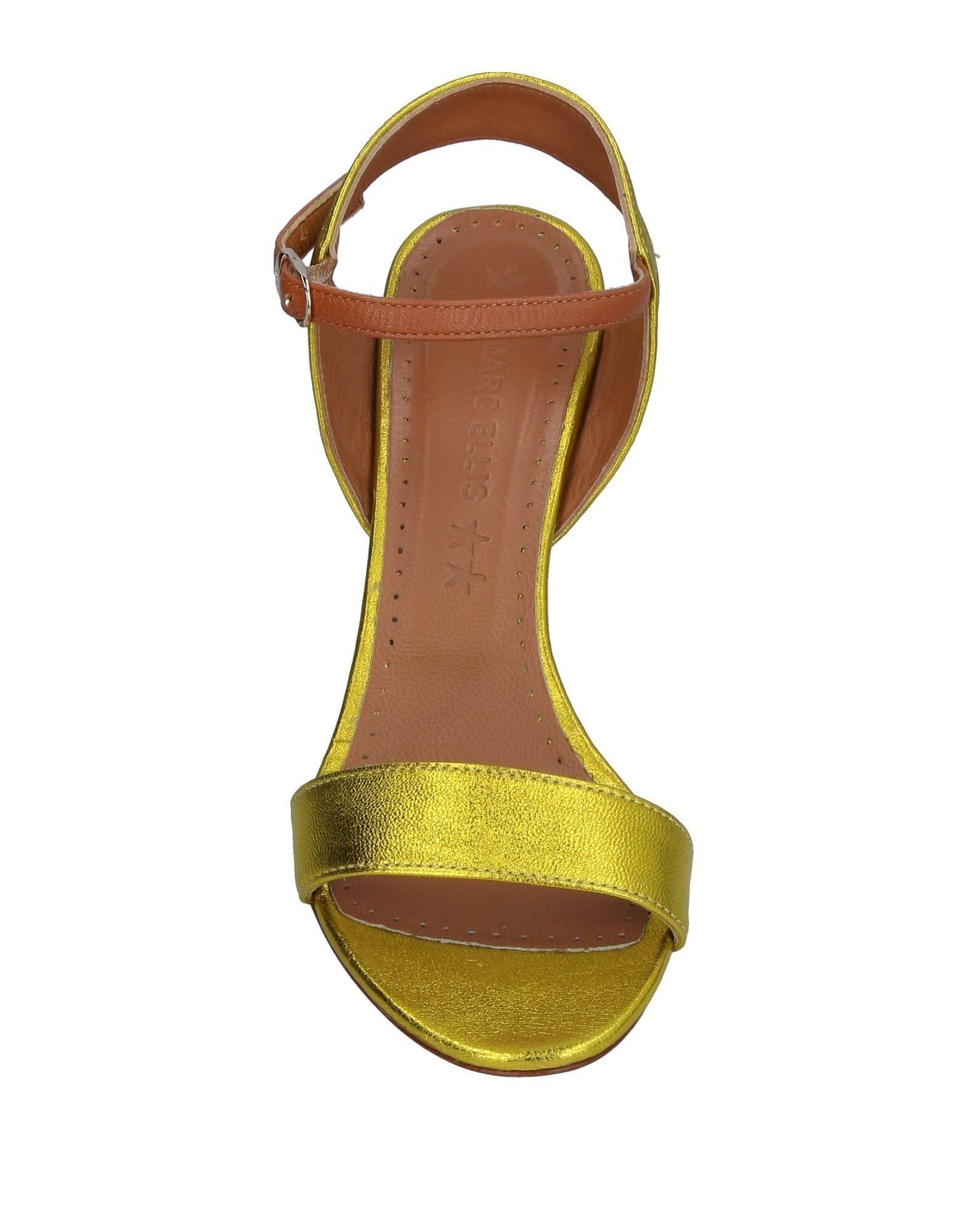 FOOTWEAR Marc Ellis Yellow Woman Leather