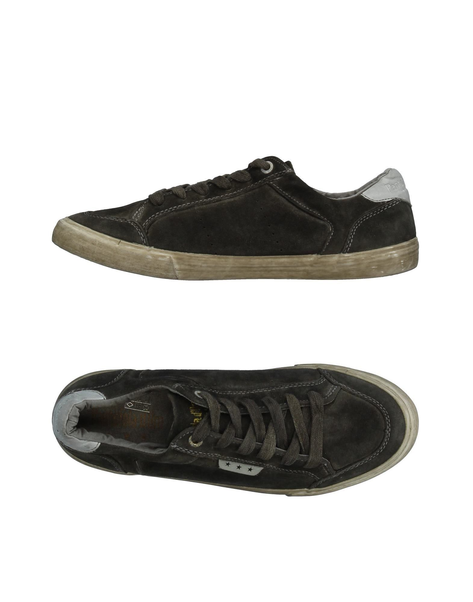 Pantofola Doro Man Dark Green Low-Top Sneakers