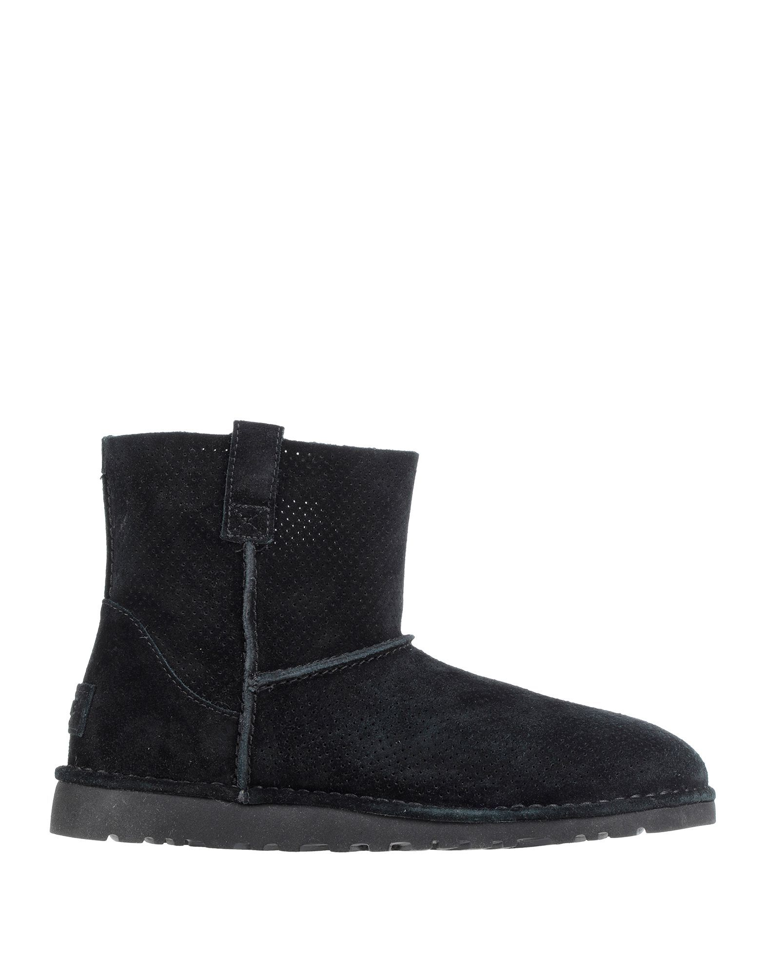 Ugg Australia Black Leather Boots