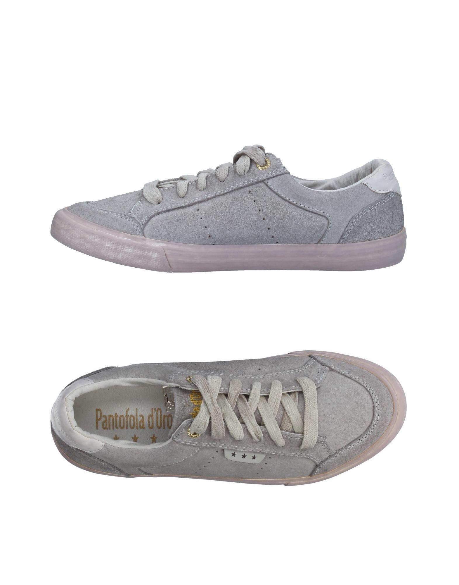 FOOTWEAR Pantofola D'Oro Grey Woman Leather