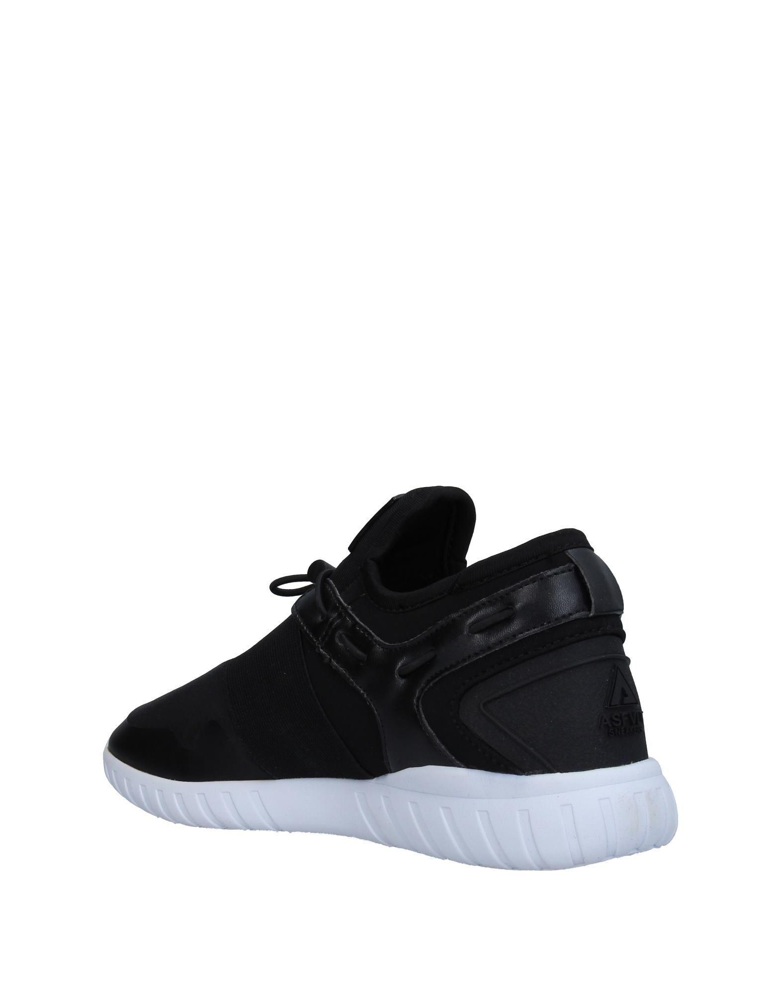 Asfvlt Black Sneakers