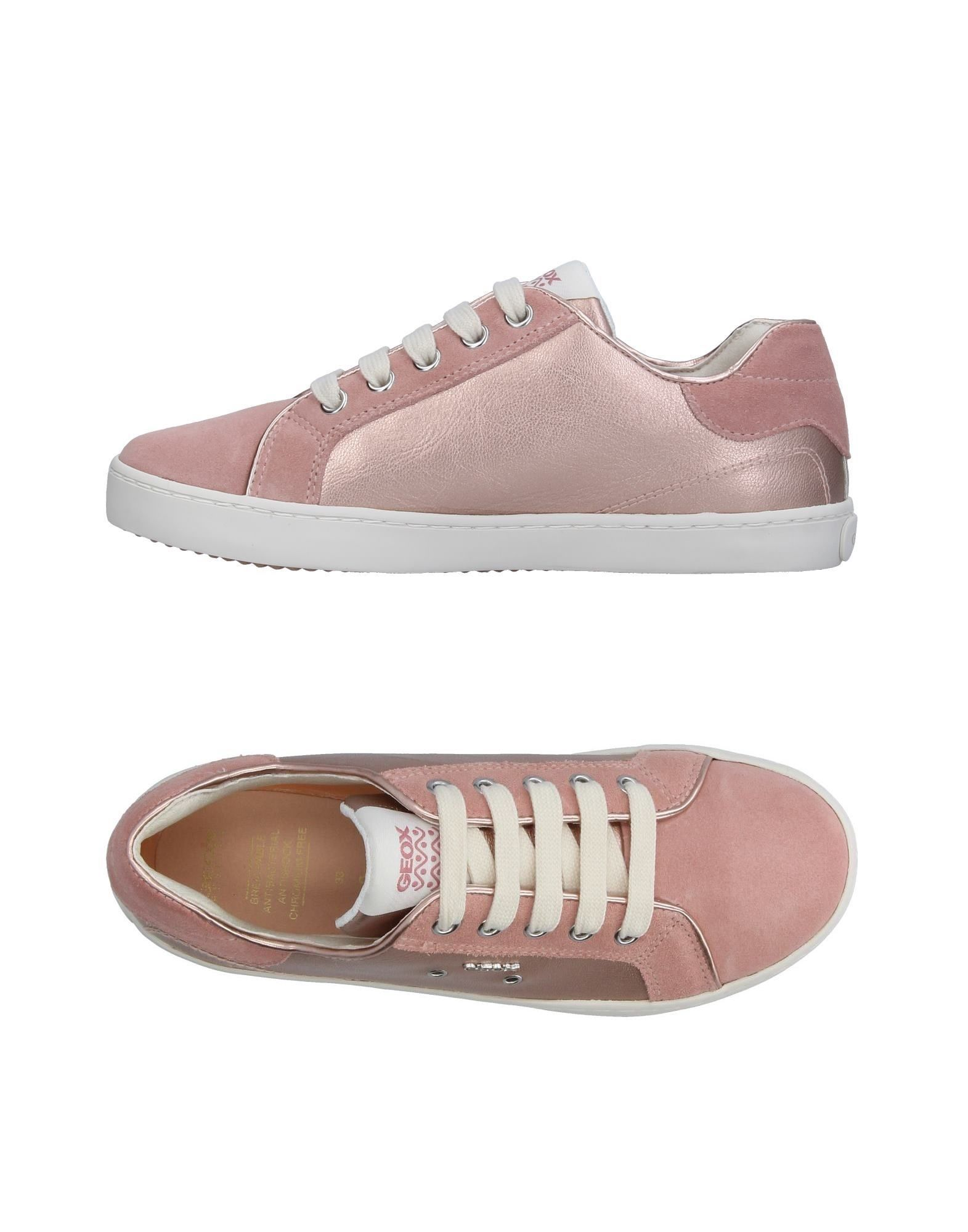 Geox Pink Girl Leather Shoes
