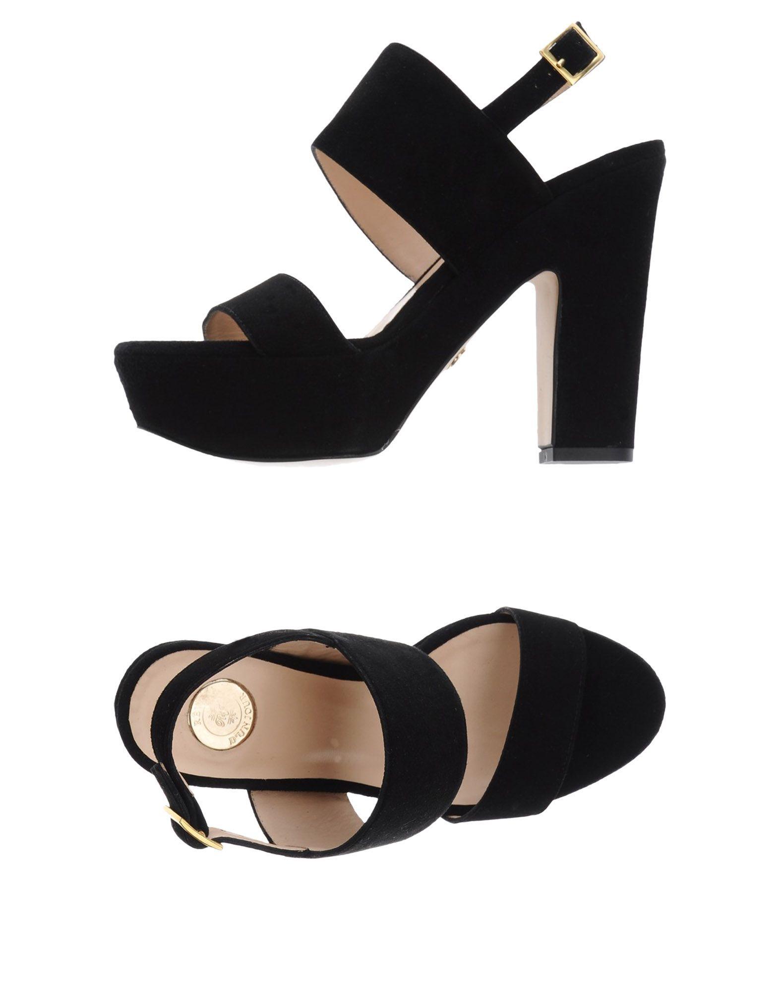 FOOTWEAR R�ve D'Un Jour Black Woman Leather