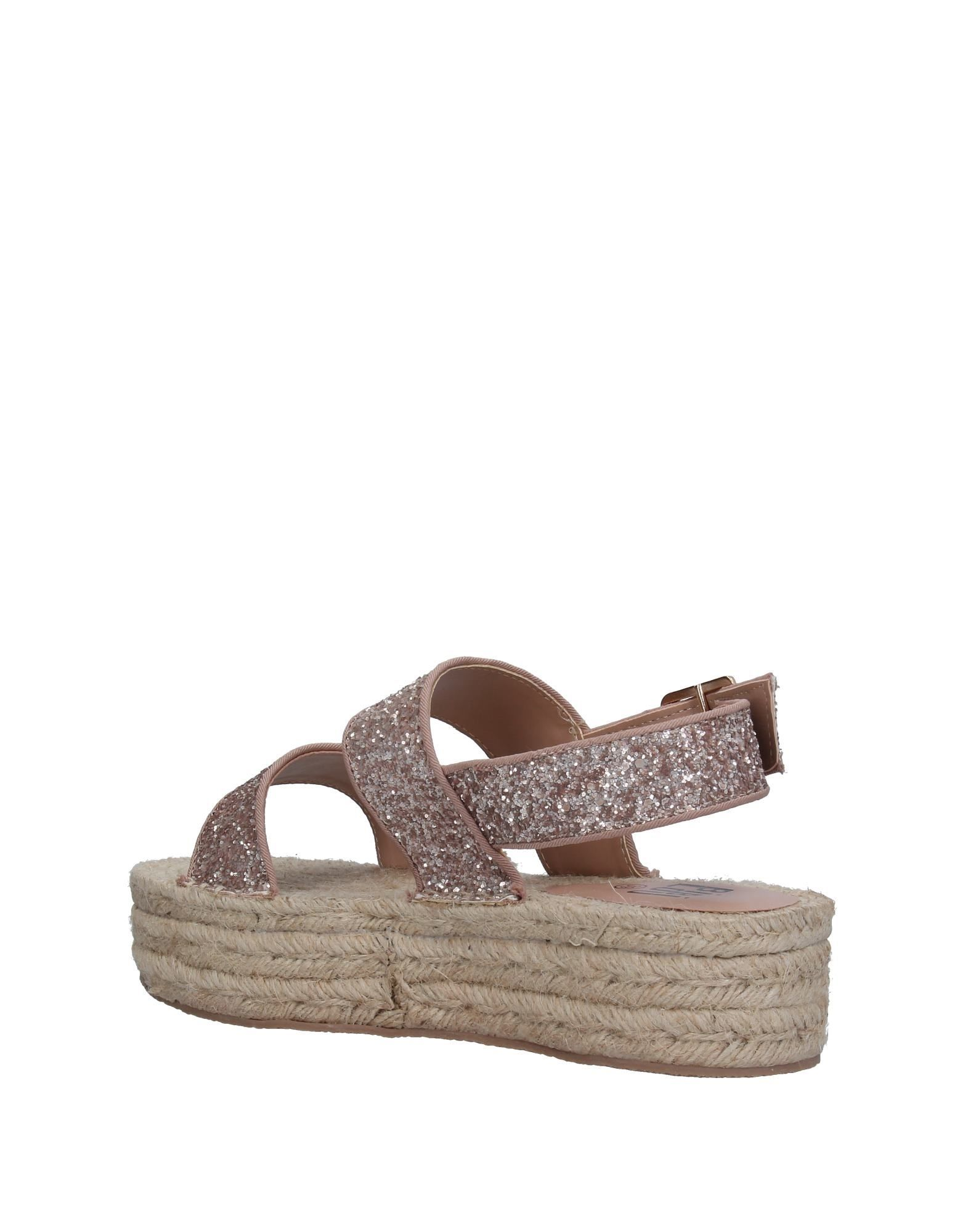 Bibi Lou Pale Pink Espadrille Sandals