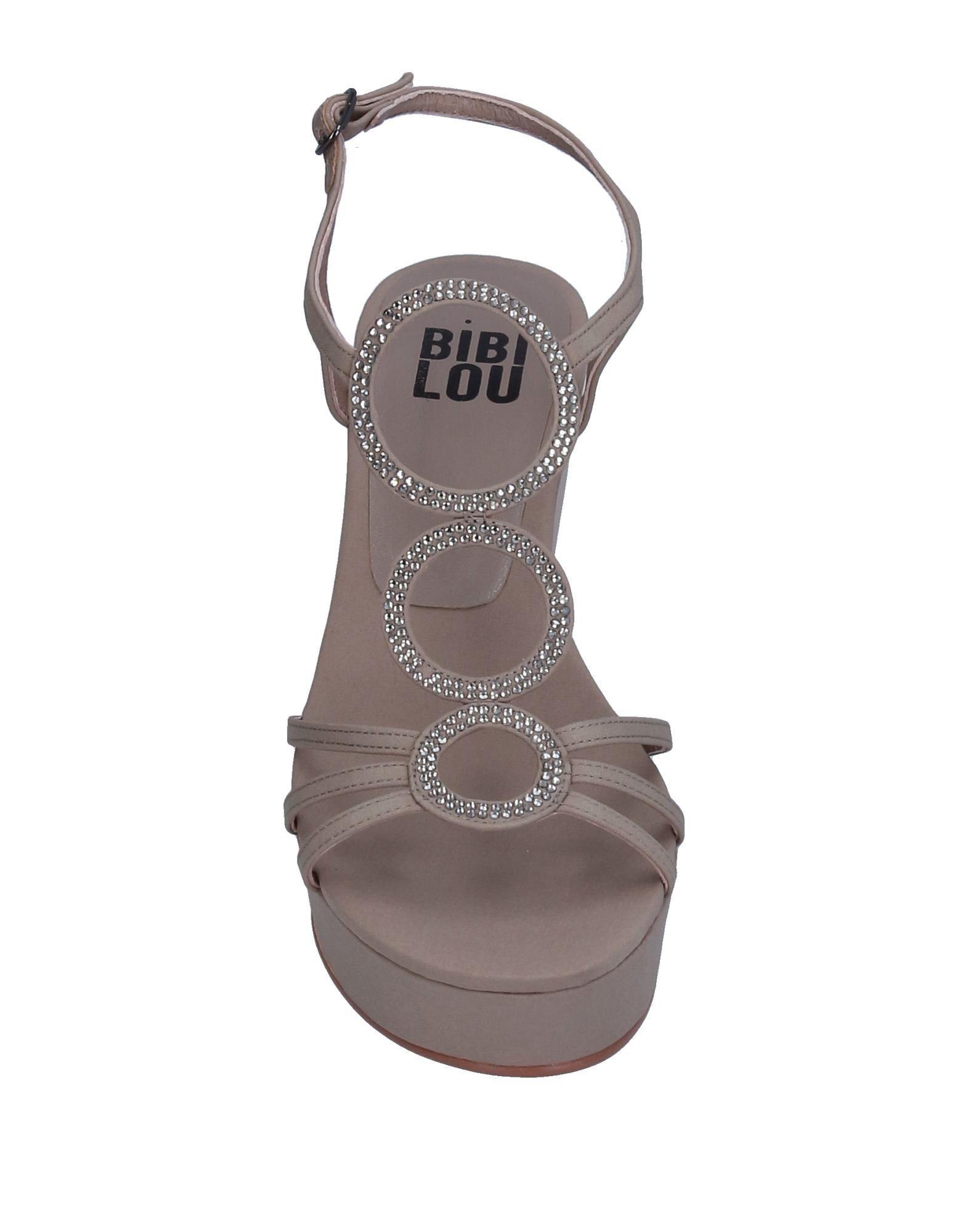 Bibi Lou Light Grey Wedge Sandals