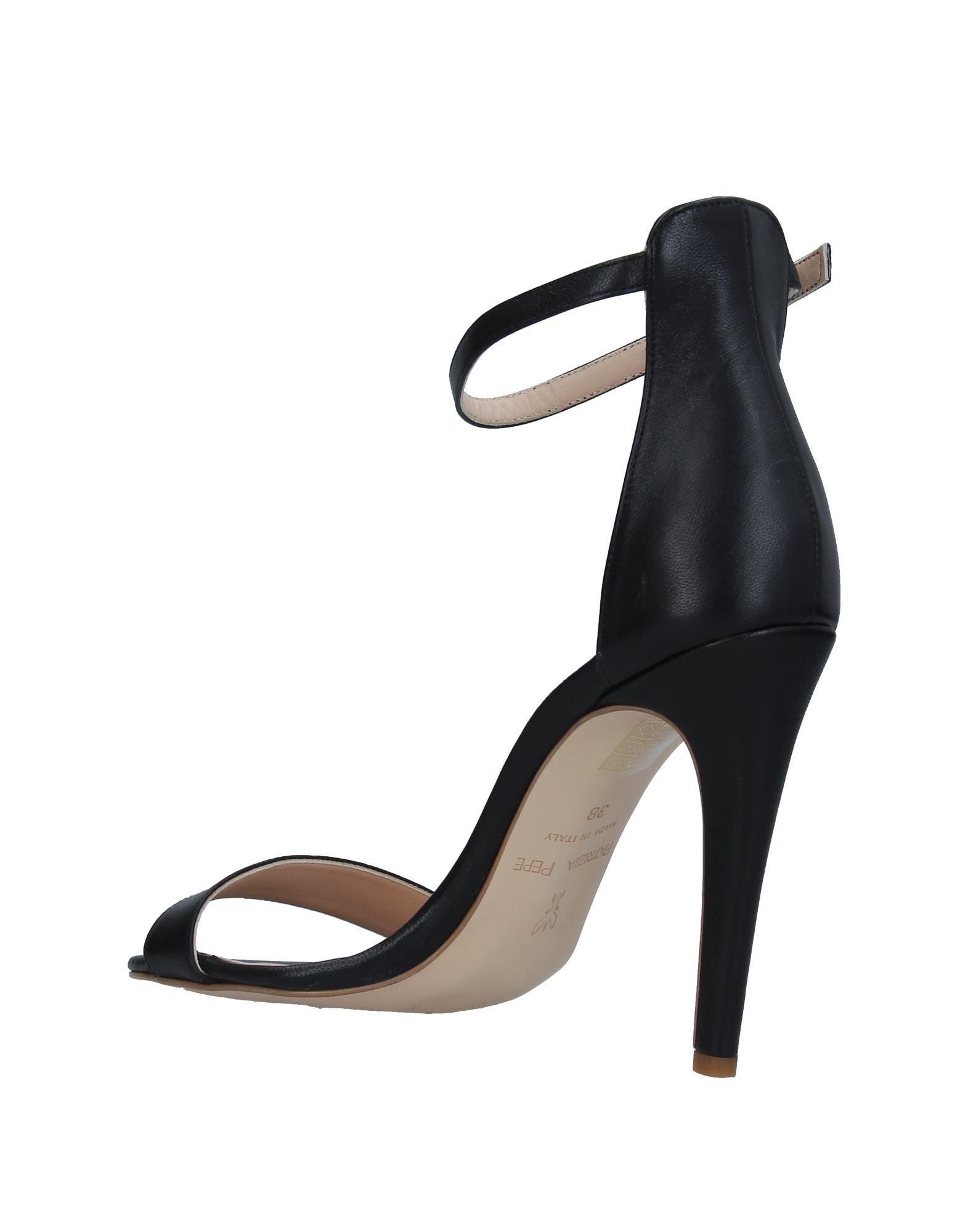 Patrizia Pepe Black Leather Heels