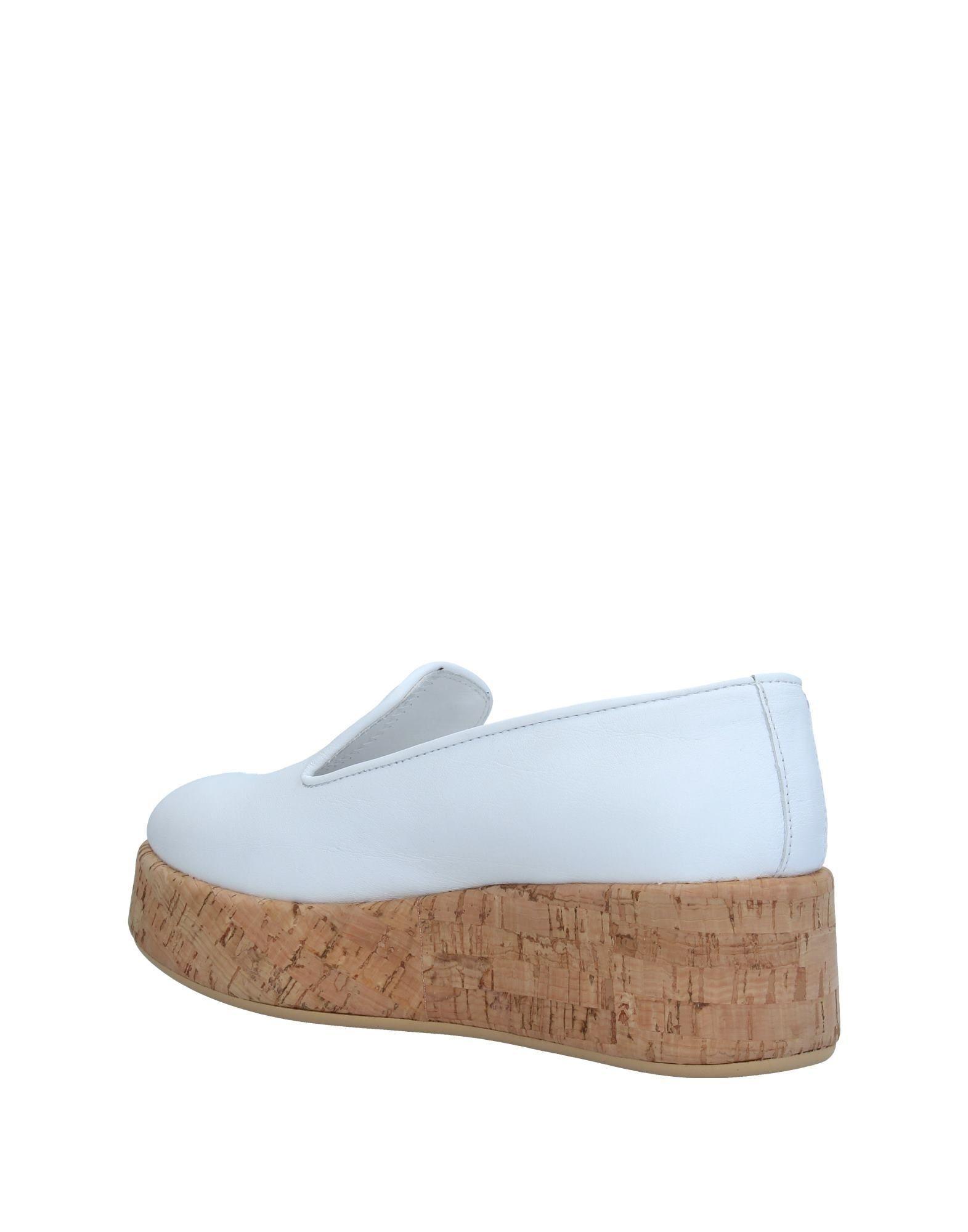 FOOTWEAR Unlace White Woman Leather