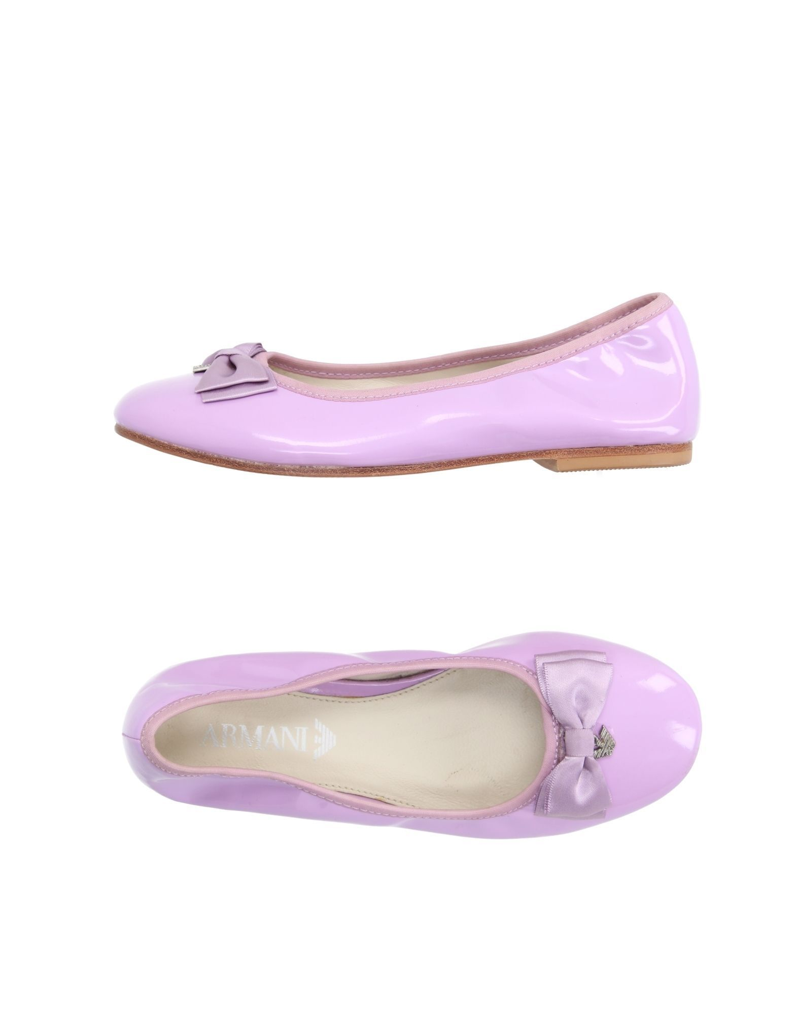 FOOTWEAR Armani Junior Lilac Girl Leather