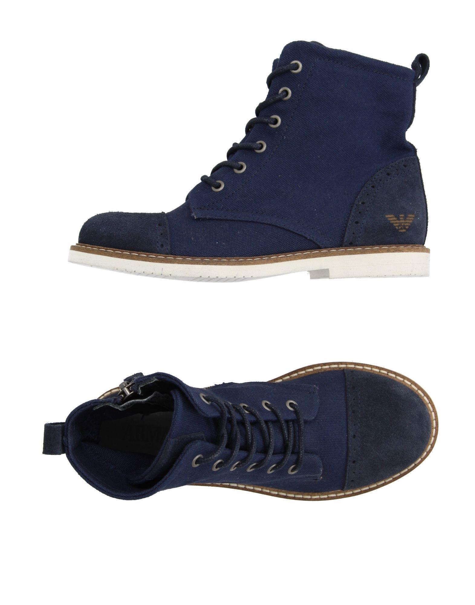 FOOTWEAR Armani Junior Dark blue Boy Bovine