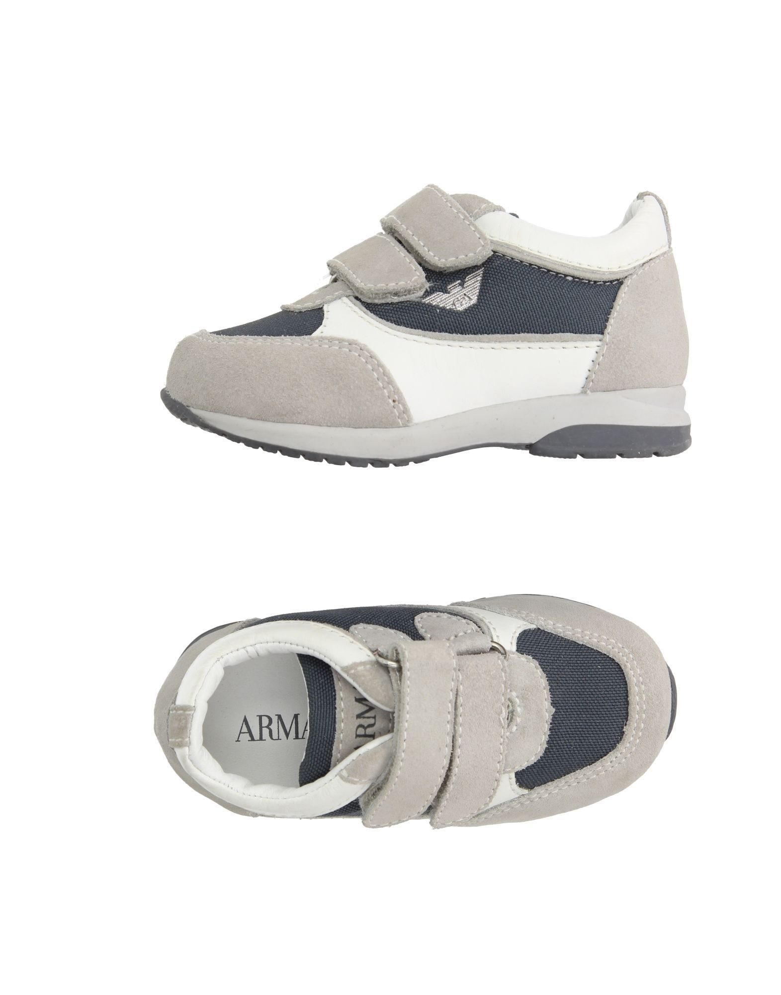 FOOTWEAR Armani Junior Light grey Boy Leather