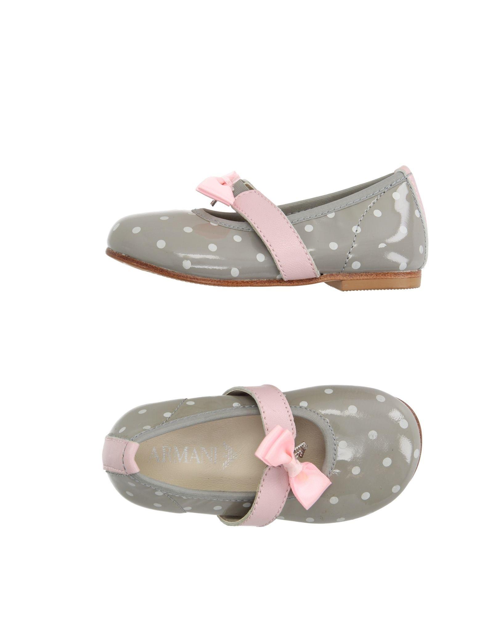 FOOTWEAR Armani Junior Grey Girl Bovine