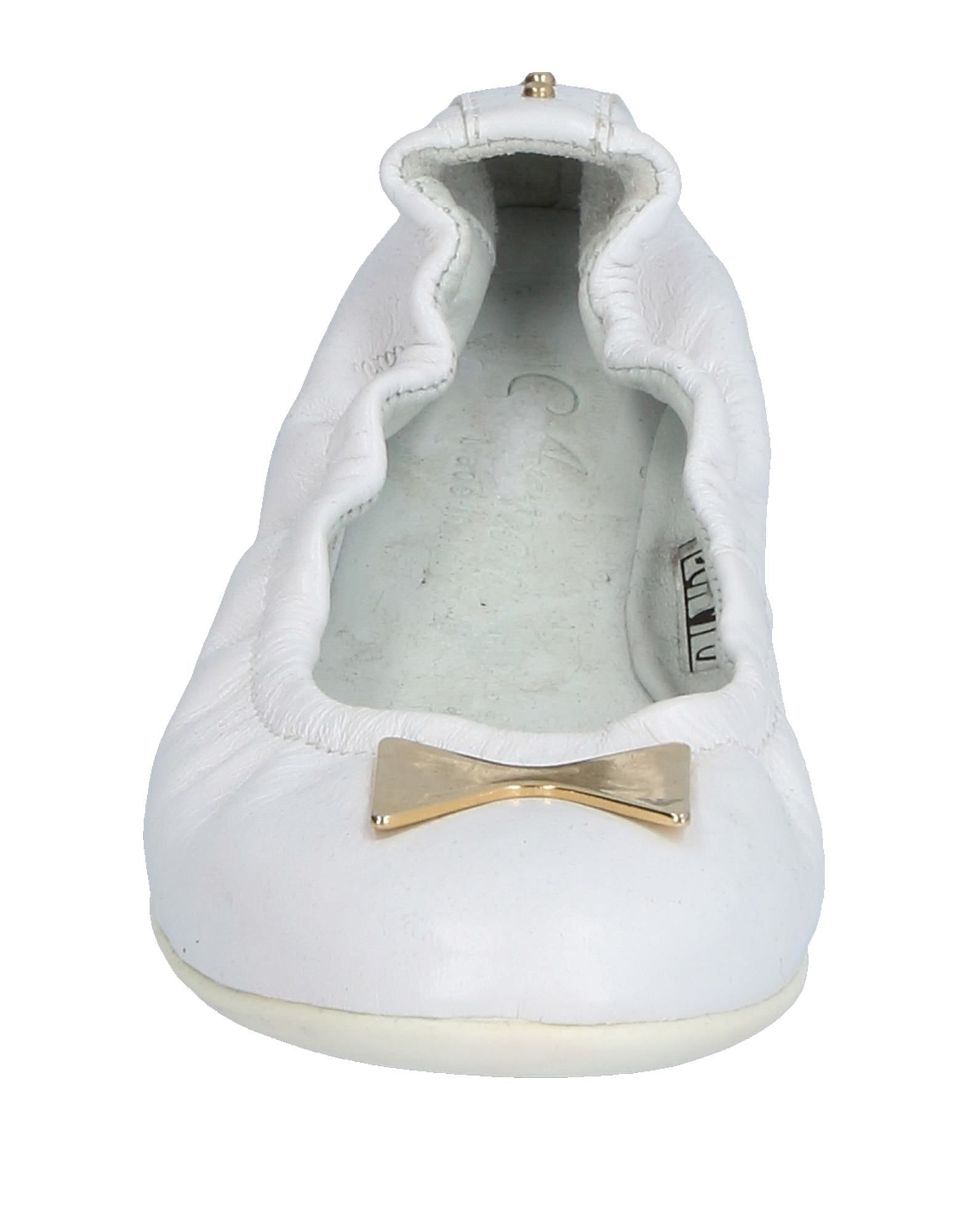 FOOTWEAR Armani Junior White Girl Leather